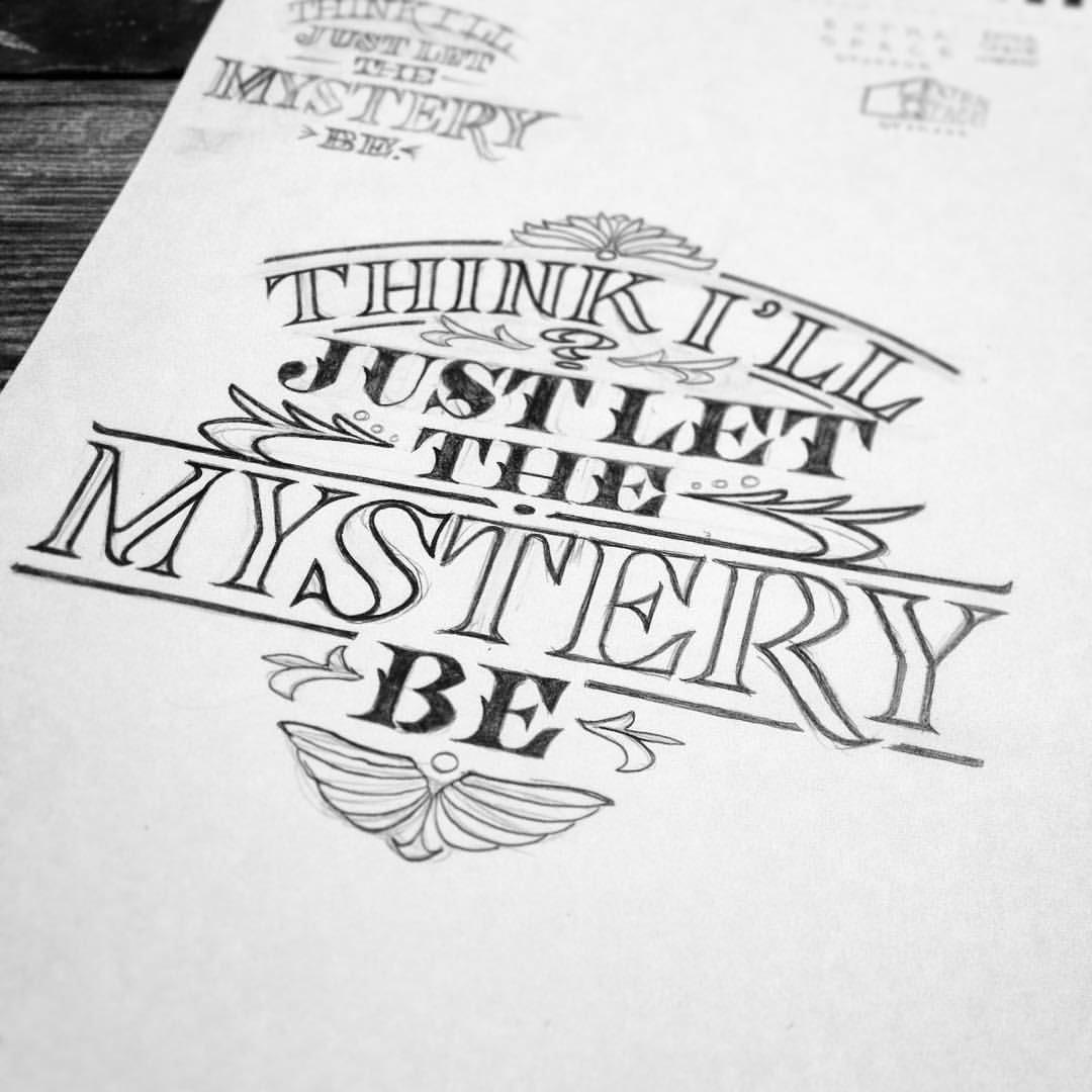 Jon benson designs lettering sketches 2015 lettering sketches 2015 altavistaventures Image collections