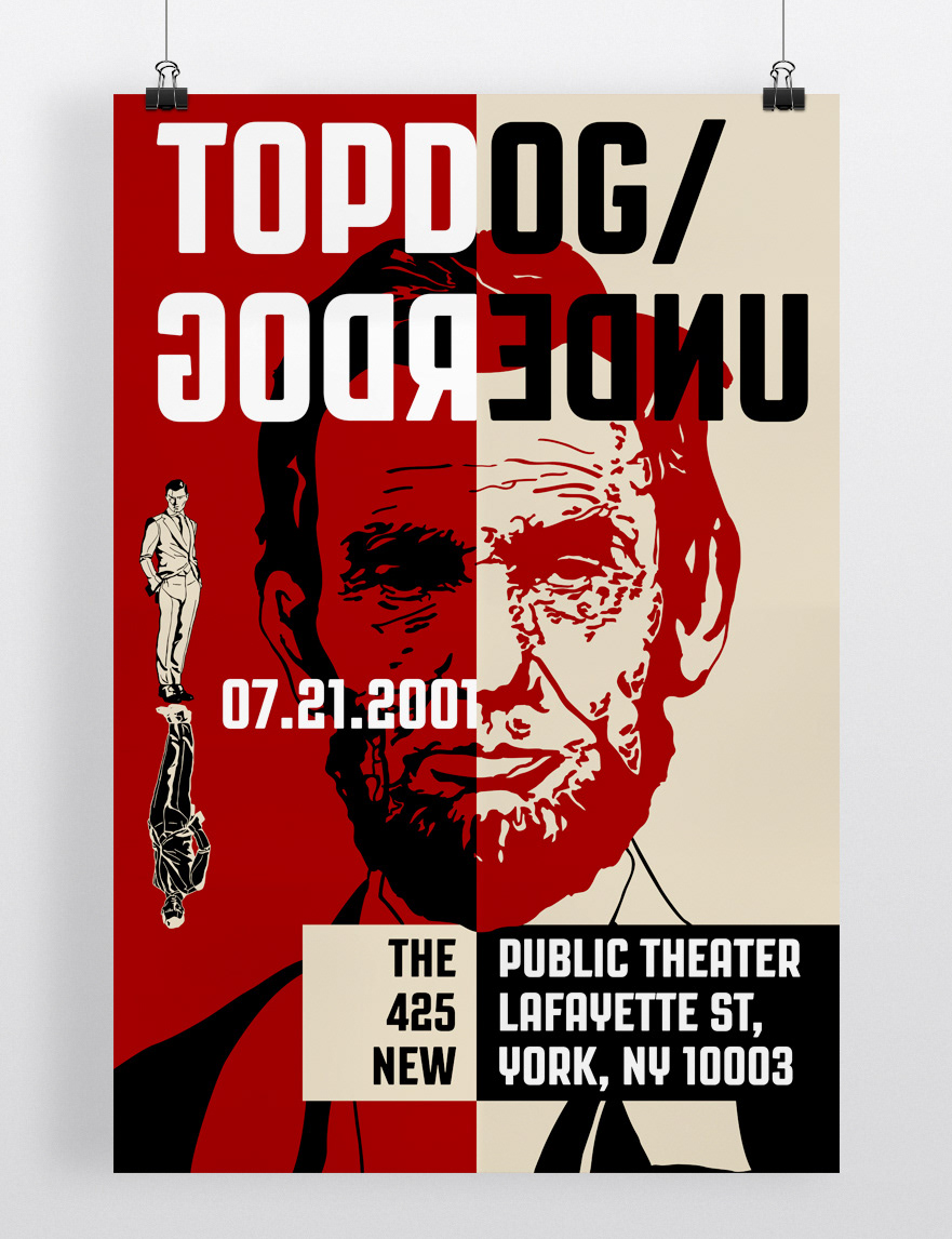 Theater Poster Project Topdog Underdog