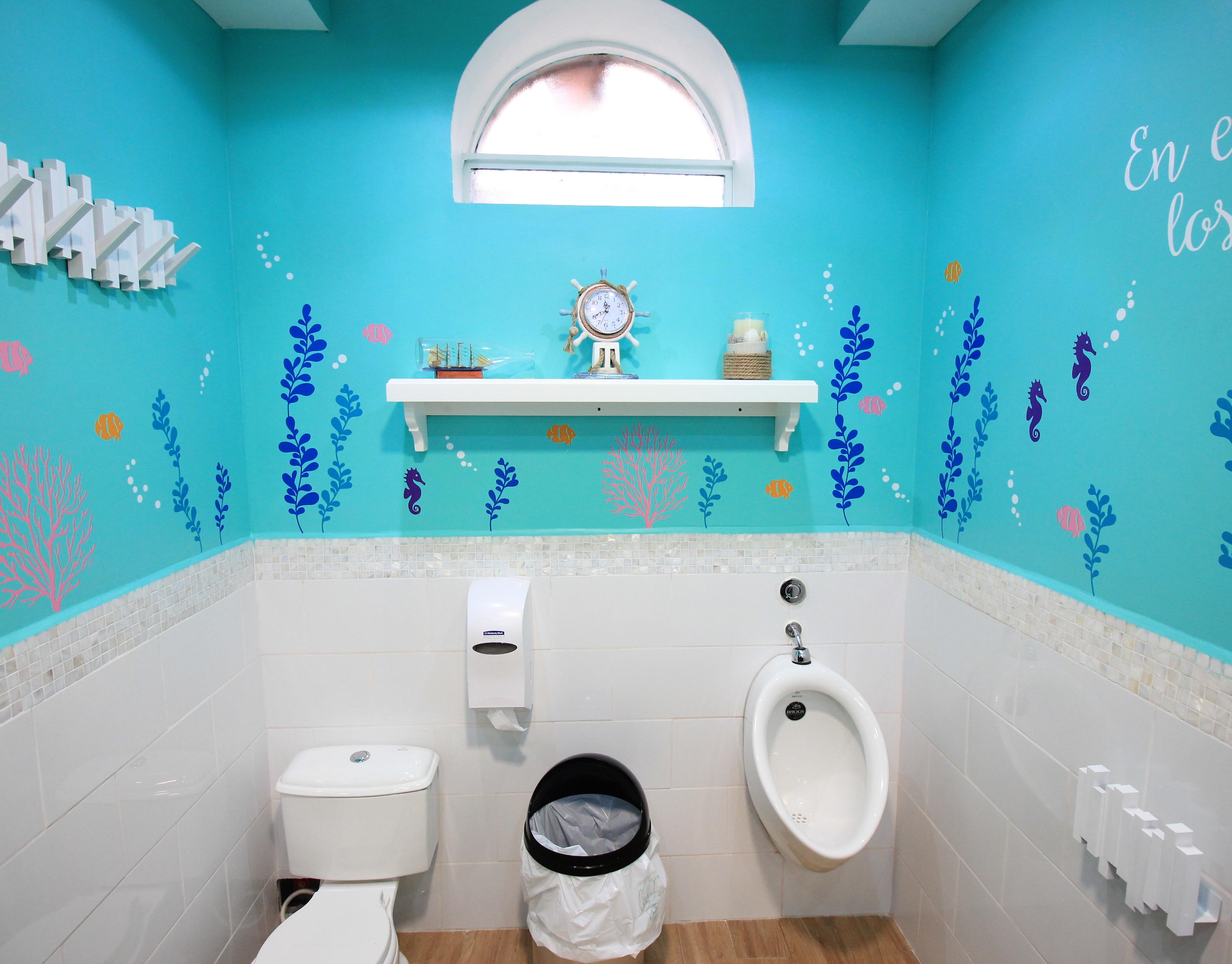 Aileen arango kids restroom interior design redise o ba o de ni os - Banos de ninos ...