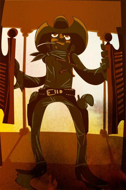 Alé Mercado Illustration - Cartoon Saloon Poster
