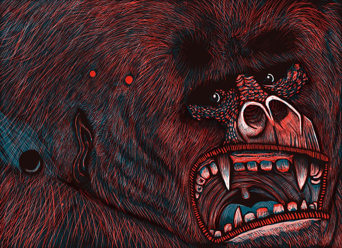 Alé Mercado Illustration - Electrohúmedos