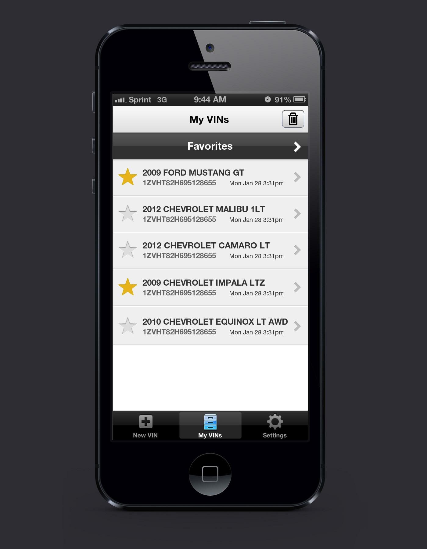 Daniel Chan CARFAX Mobile App for Dealers VIN Scanner