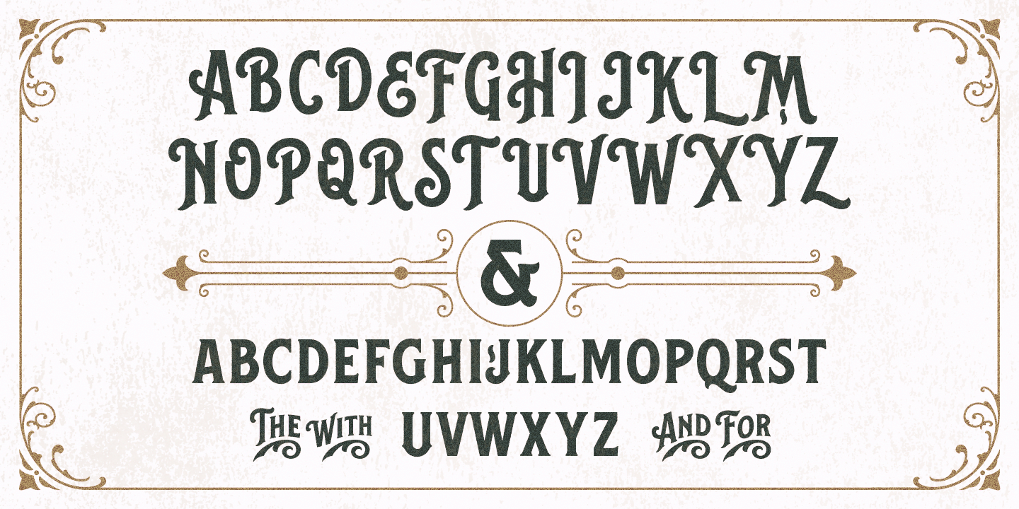 Ilham Herry Balford Font And Ornament