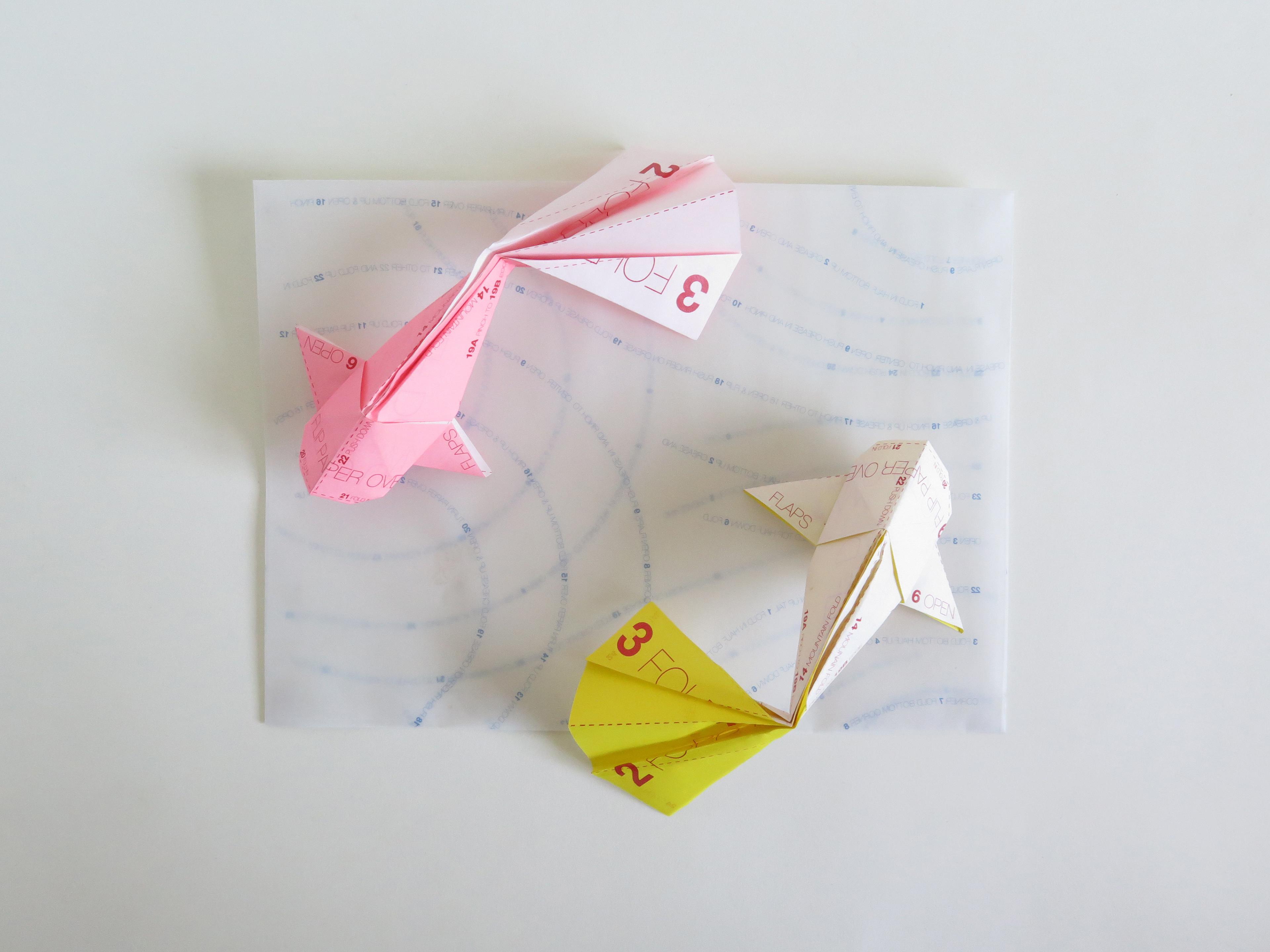 How to make Origami Fish Koi (sipho mabona) - YouTube   2880x3840