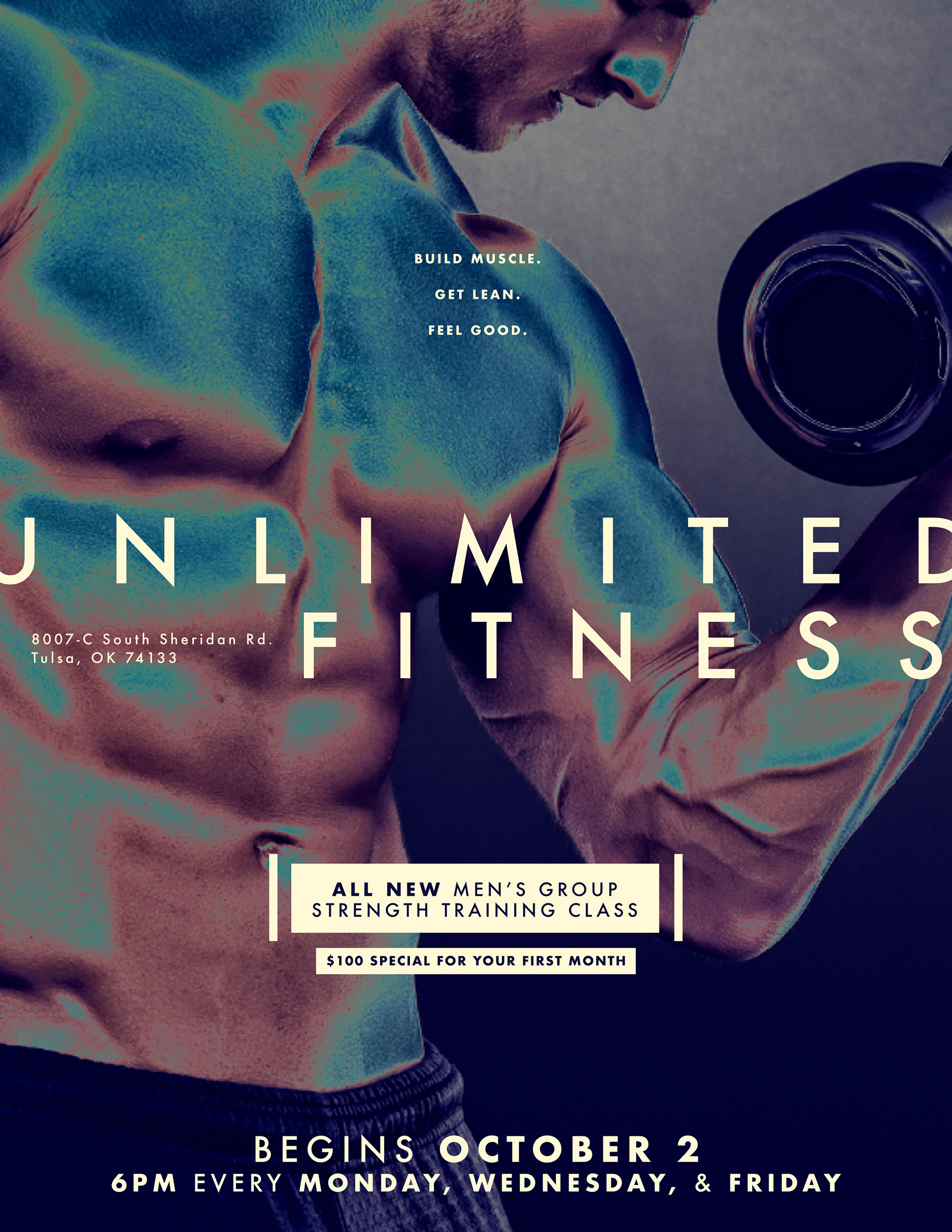 Chase Shewbridge - \'Unlimited Fitness\' flyer
