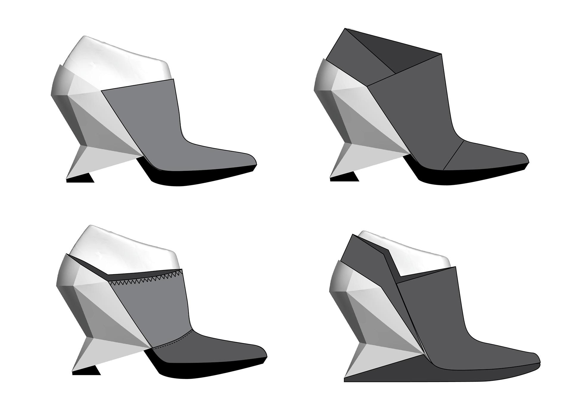 michal kukucka - Crystallic shoe concept / United Nude