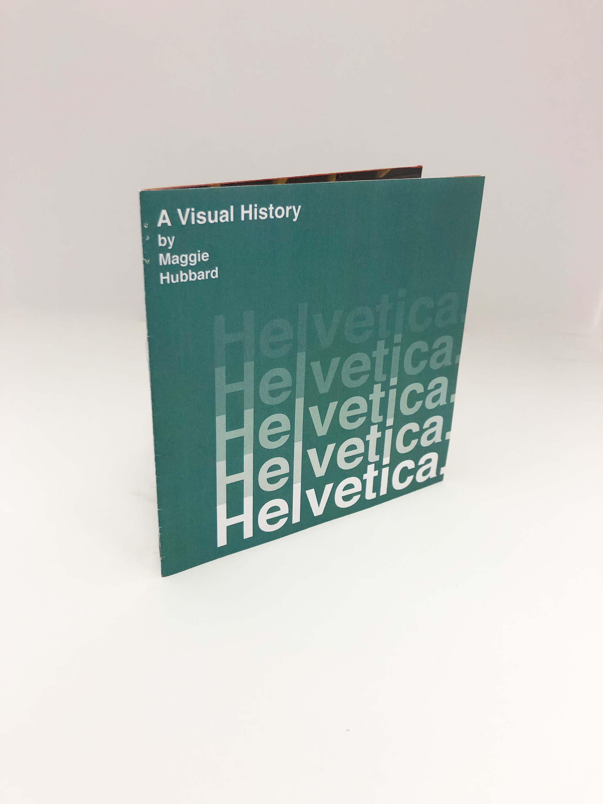 Maggie Hubbard - Helvetica Saddle Stitch Booklet