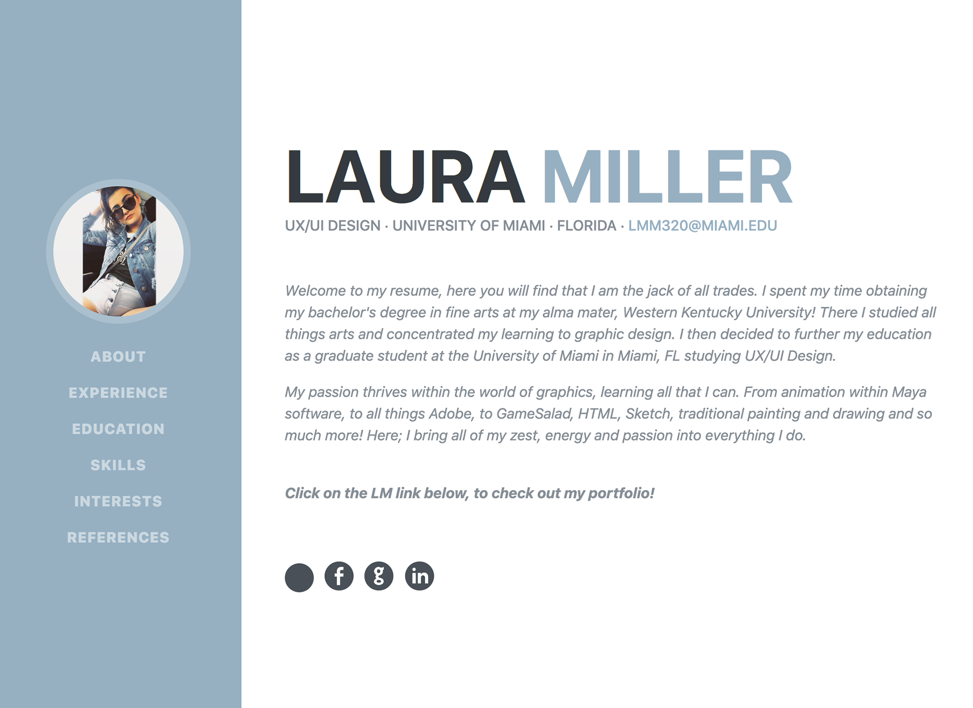 Laura Miller Web Design