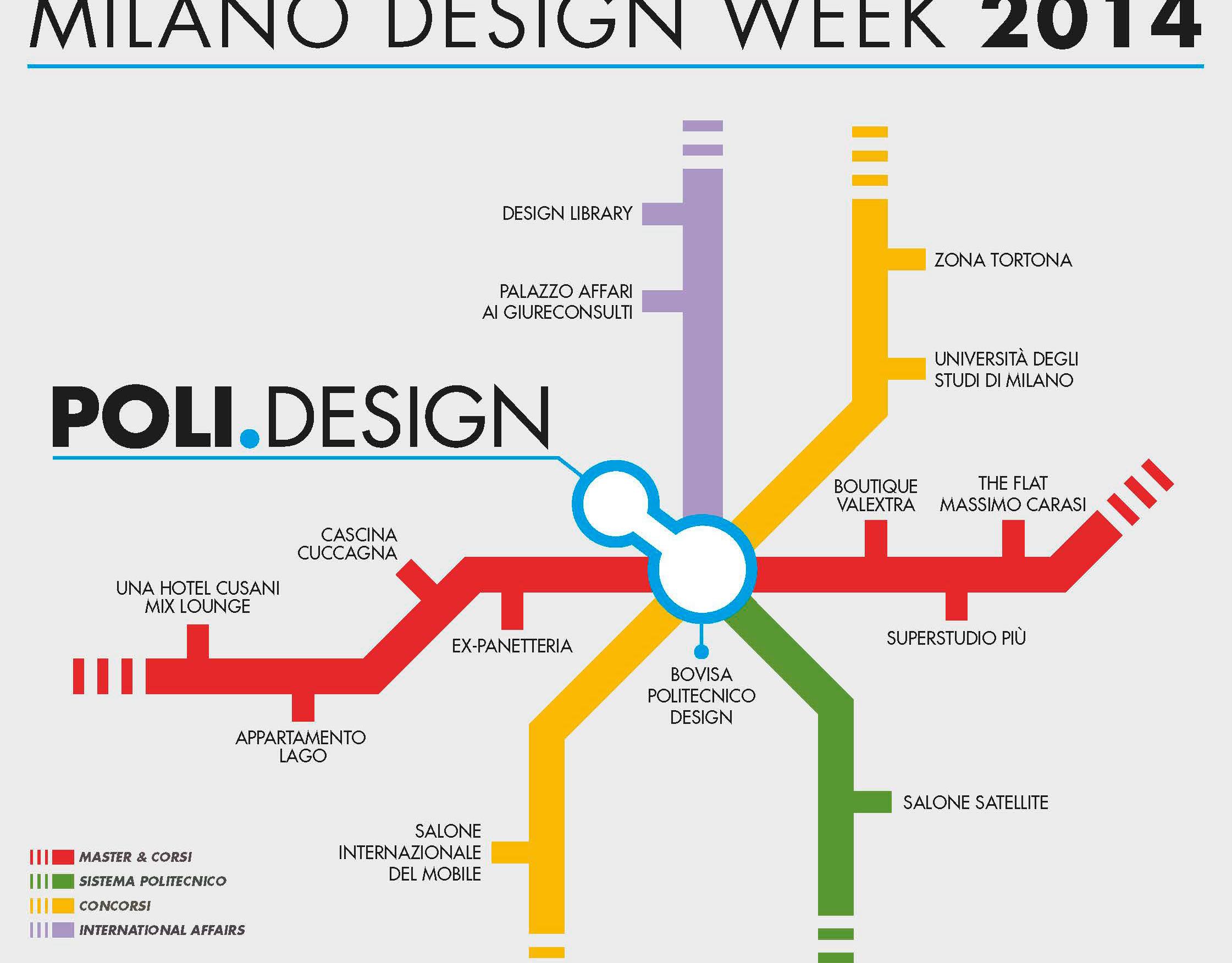 Luca carnevale portfolio milan design week maps poli for Poli design