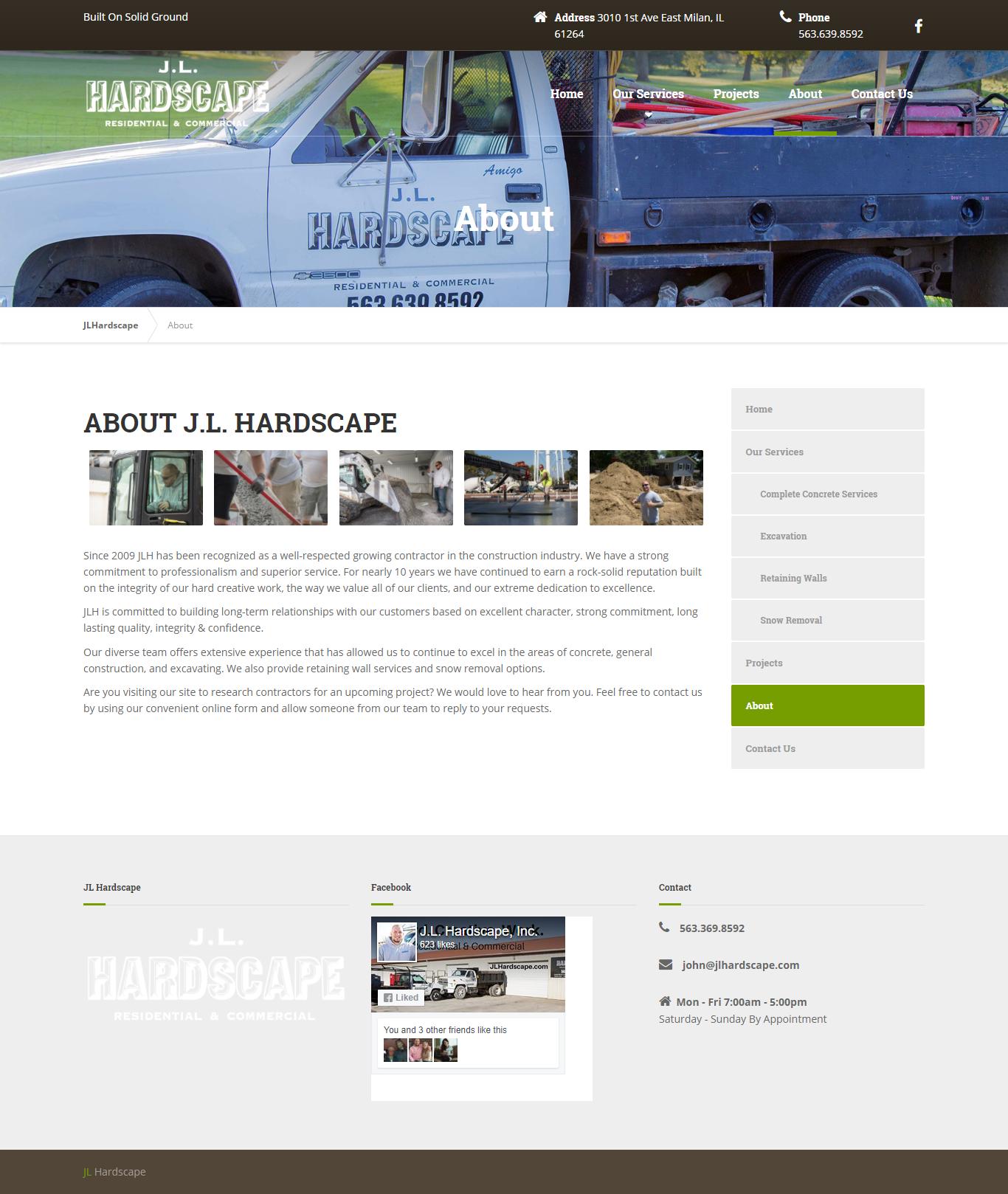 Jason Rose Jl Hardscape Website