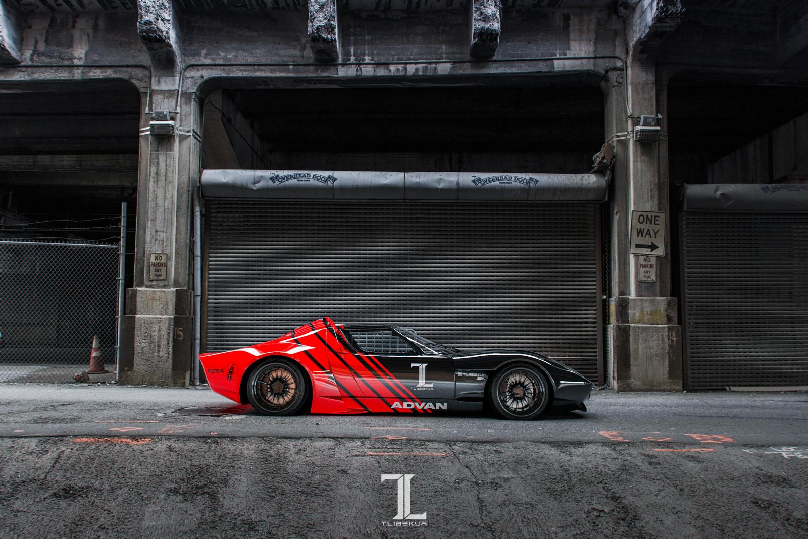 Kasim Tlibekov Tlibekua Lamborghini Miura Modern Body Kit
