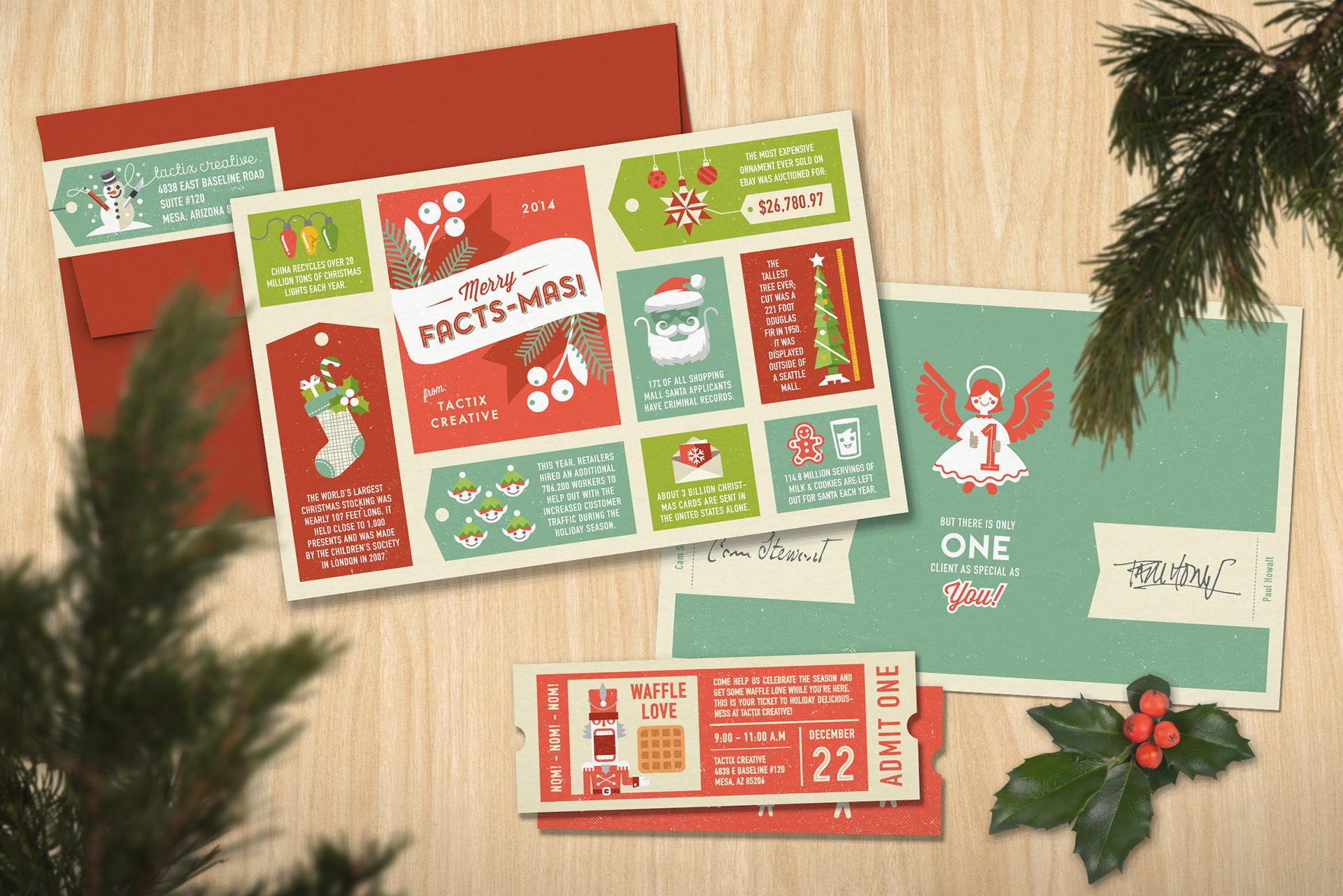 Paul Howalt - Tactix Creative Holiday Card
