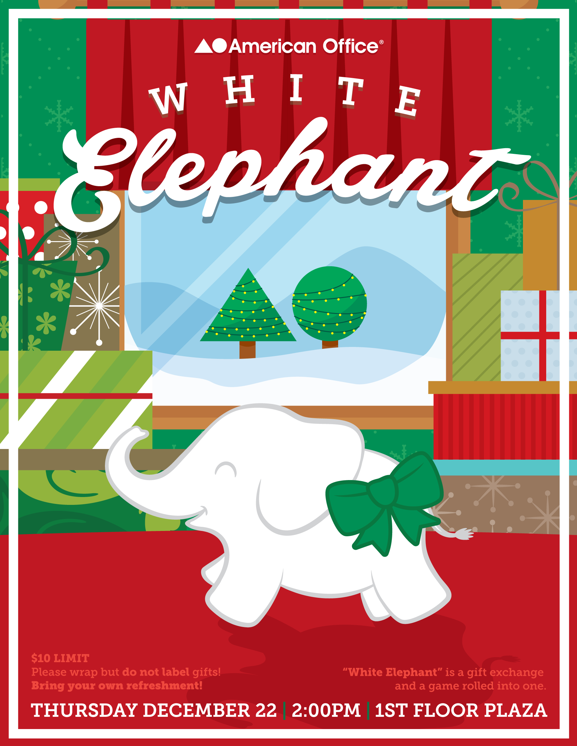 Geode - James Bernhardt\'s Portfolio - White Elephant Flyer
