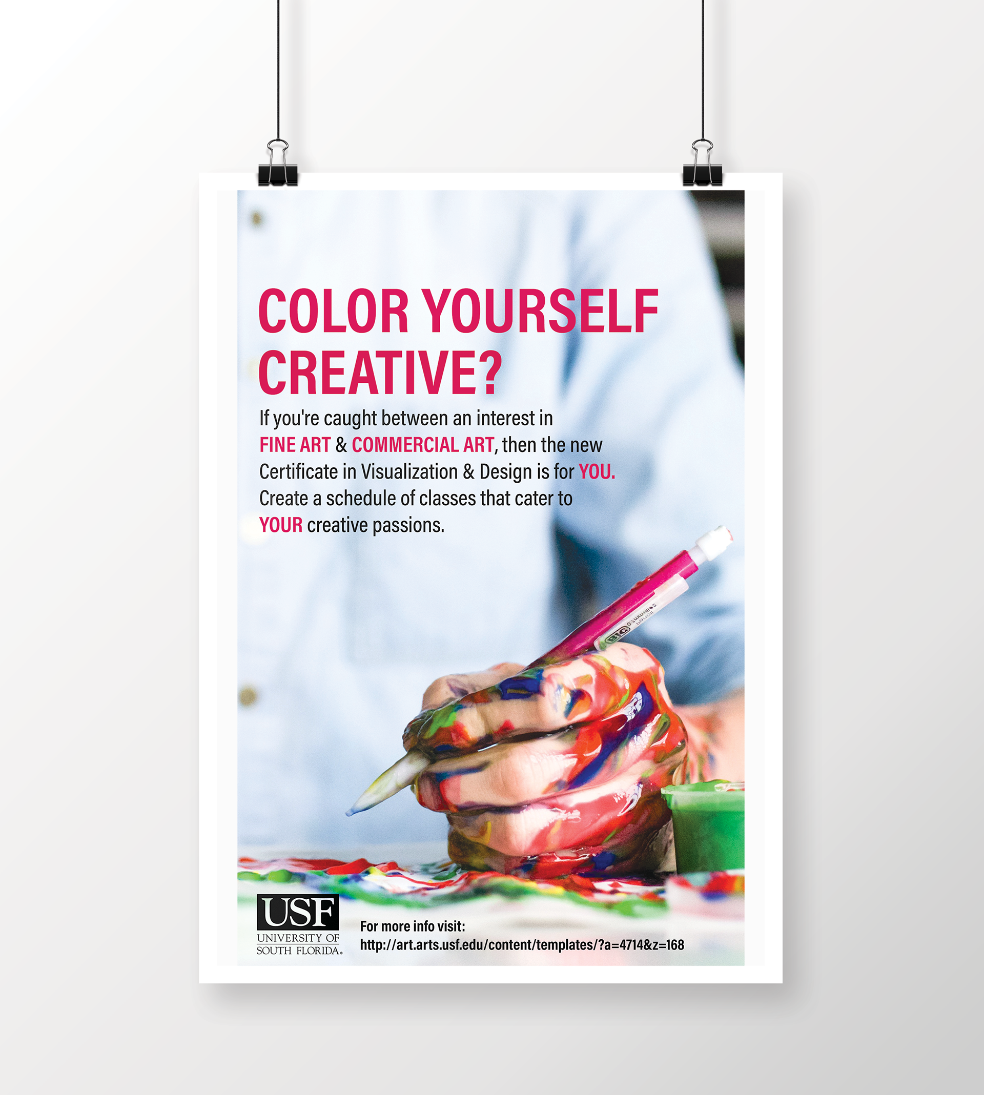 Design poster yourself - Visualization Design Poster