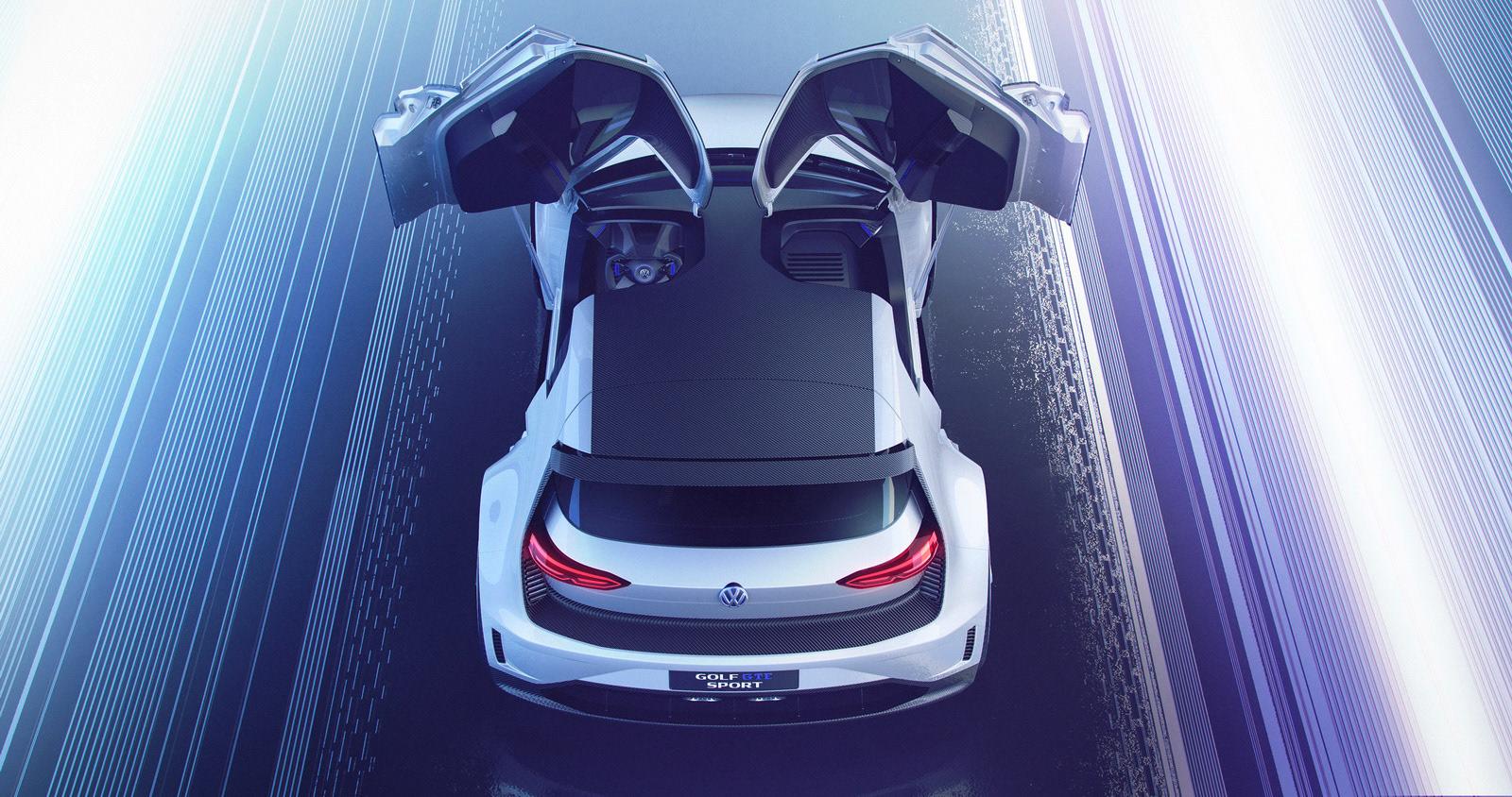 Digital Images For Press Release Of Volkswagen Golf Gte Sport Concept