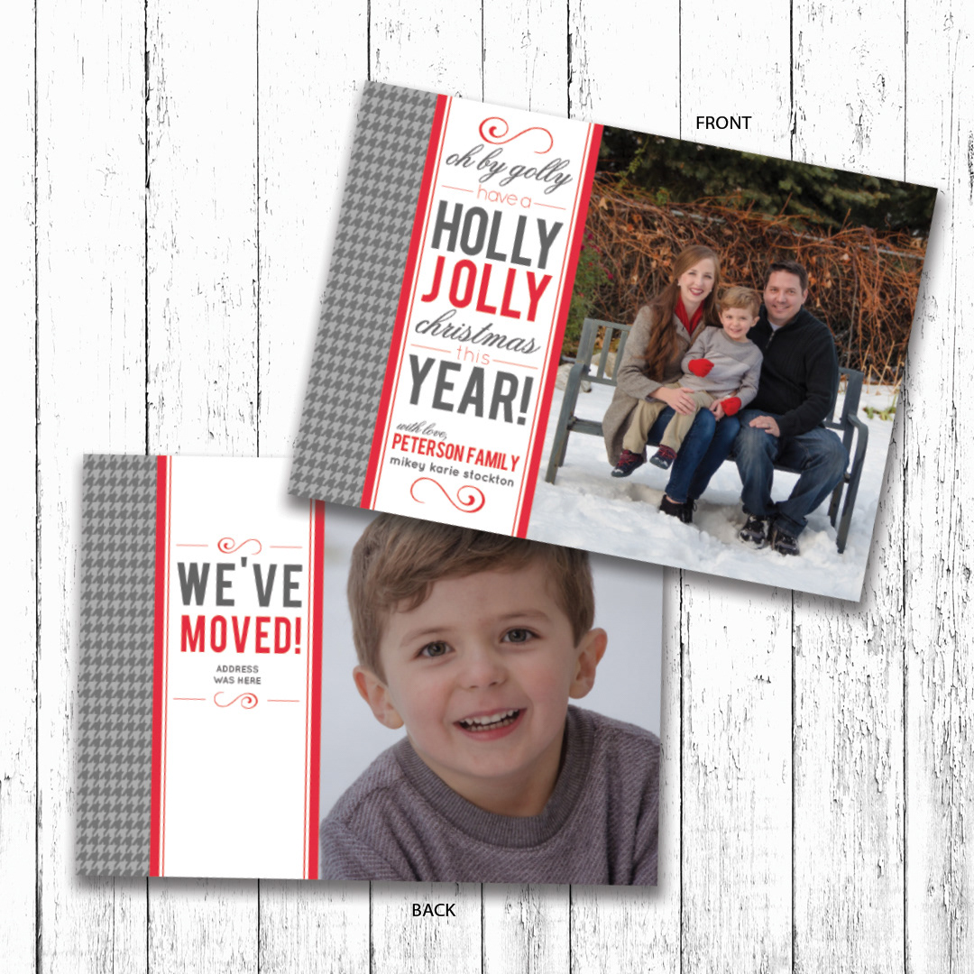 camille creates oh by golly christmas card