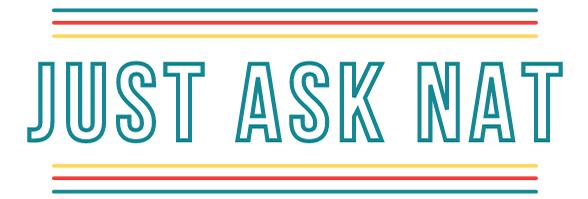 Just Ask Nat Logo