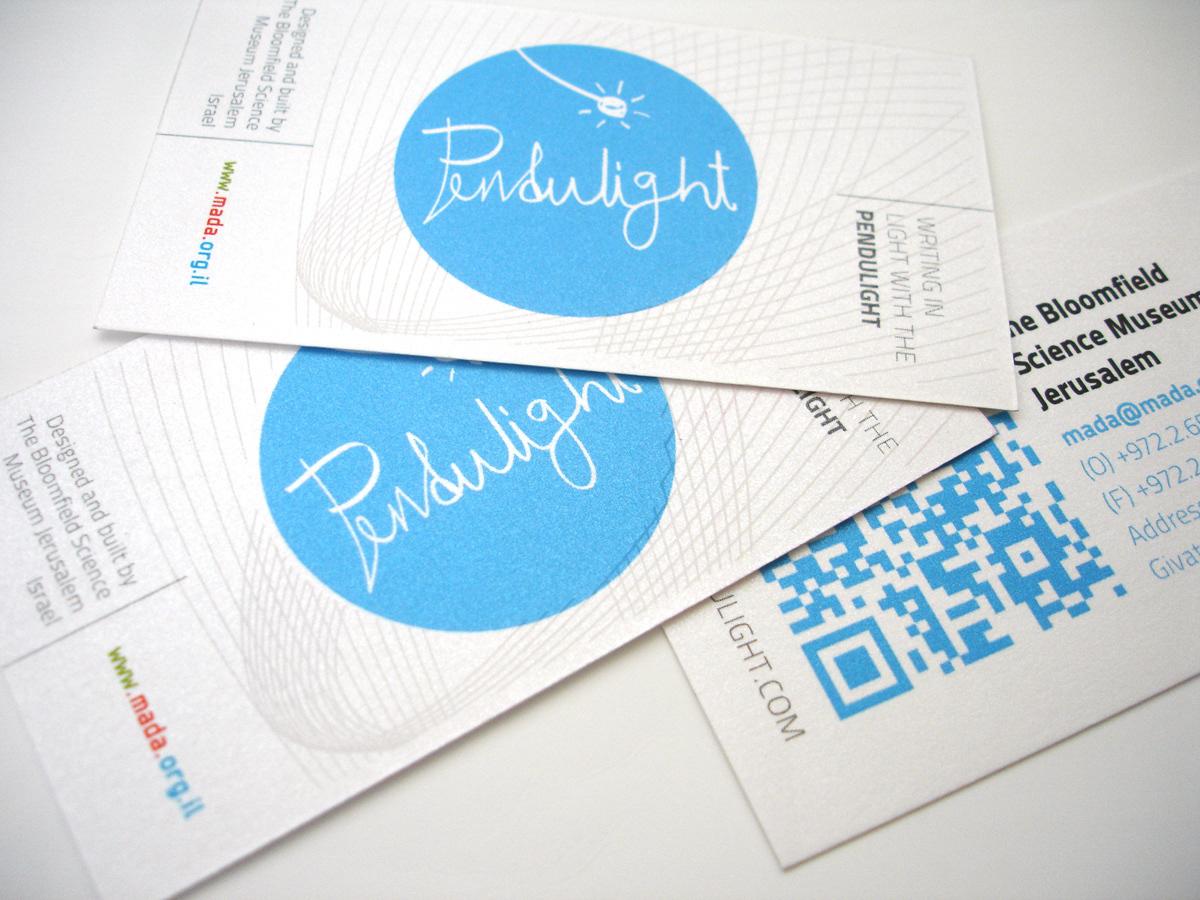 Vadik Bakman - Pendulight business card - Special edition photochromic