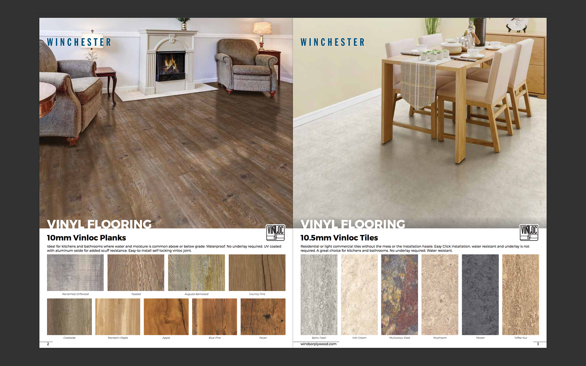 2017 Vinyl And Laminate Floor Catalog For Windsor Plywood