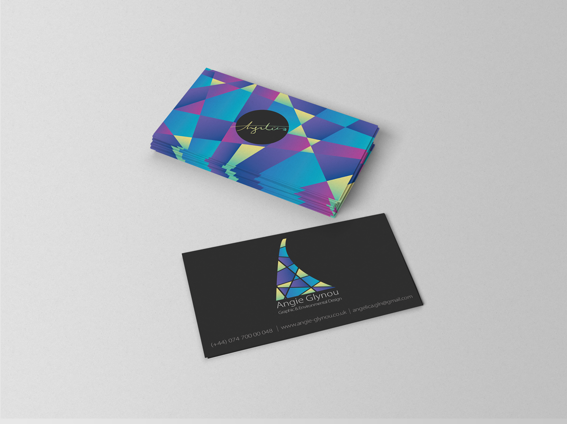 Angie Glynou - Personal Project: Business Card