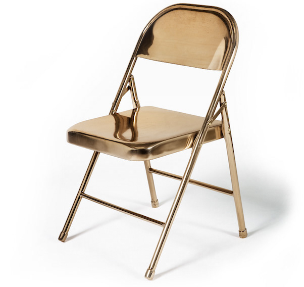 Super Ben Stagl Solid Cast Bronze Unfolding Chair Ocoug Best Dining Table And Chair Ideas Images Ocougorg