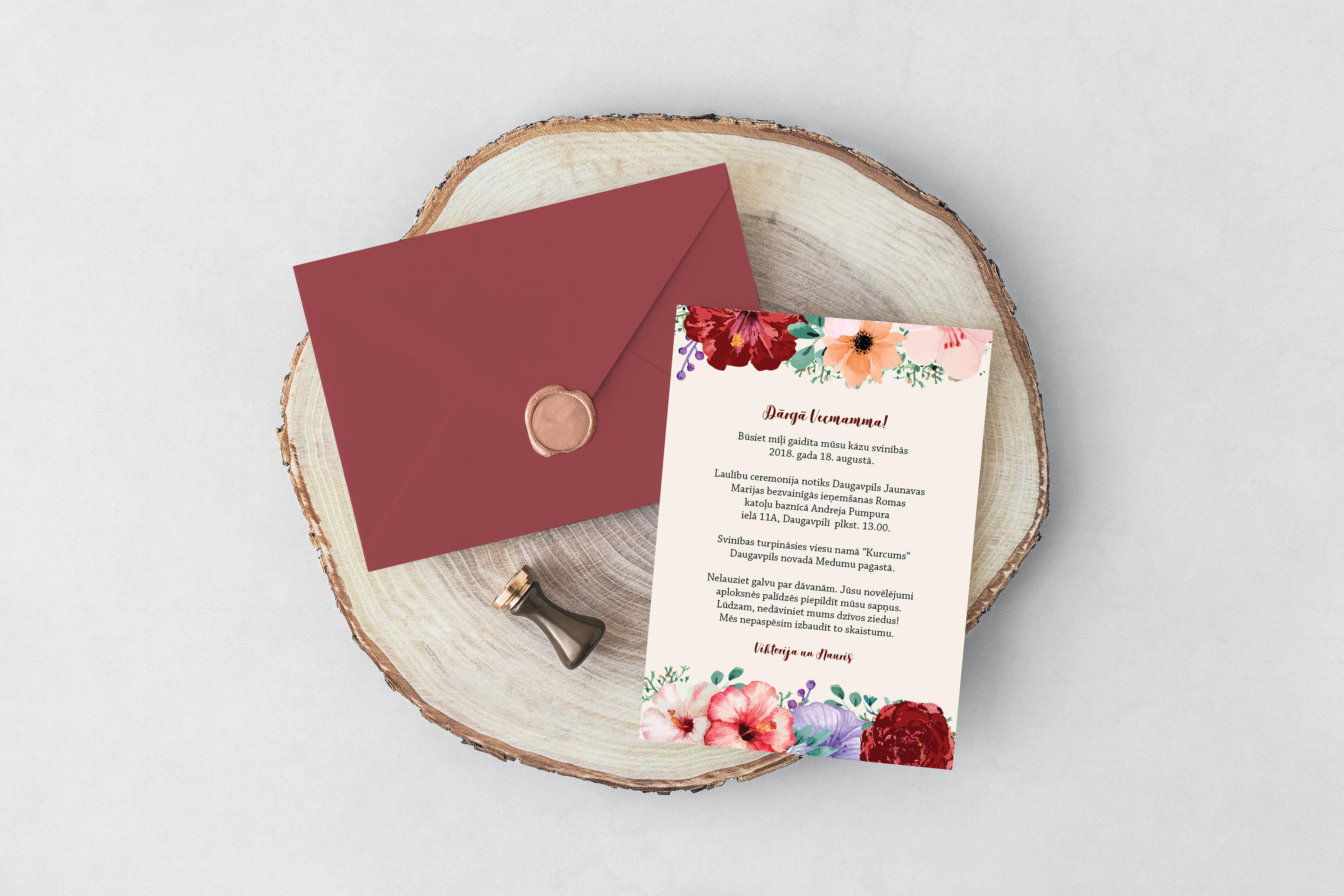 Laura and Liza - Wedding Invitation