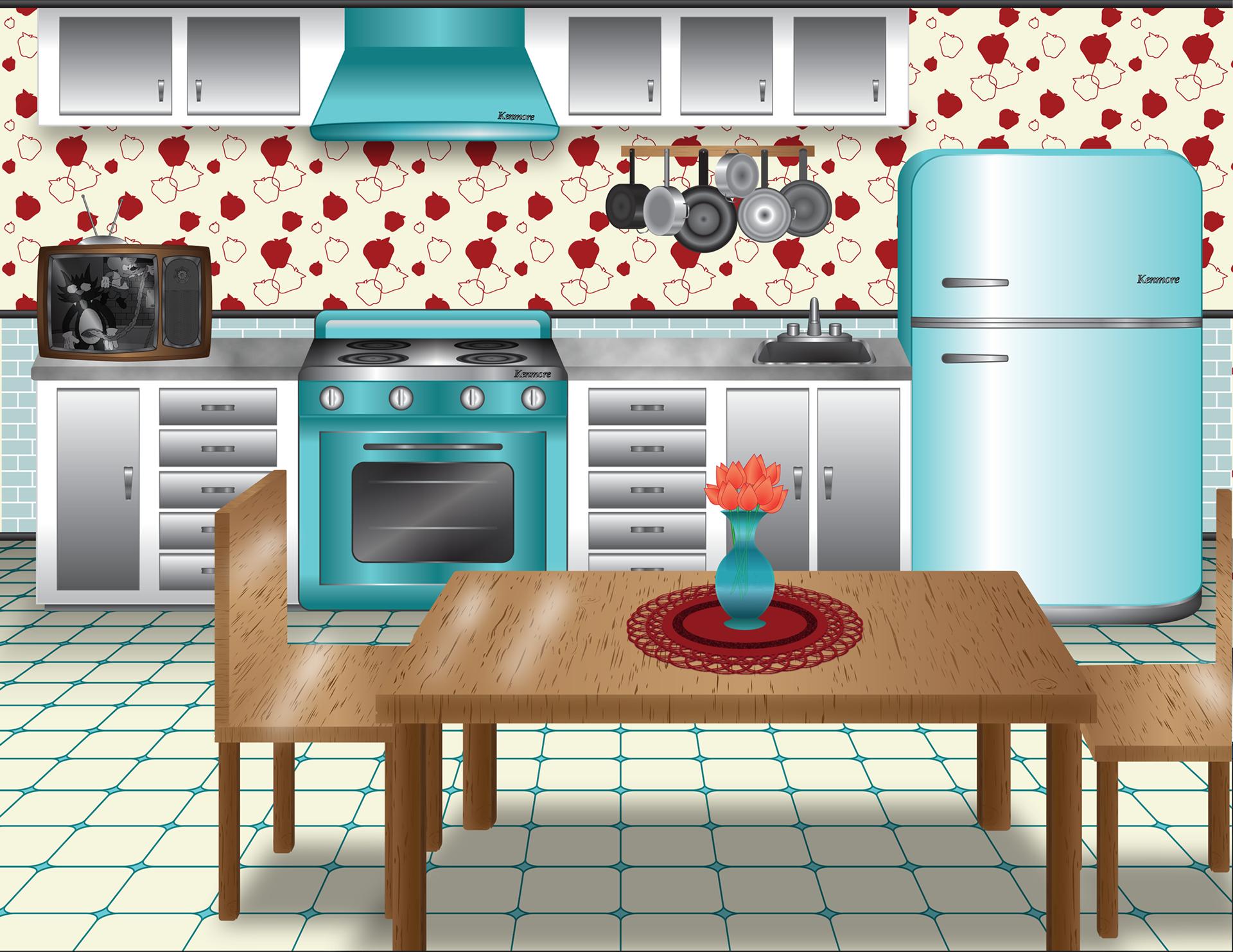 Фоновые картинки для кухни