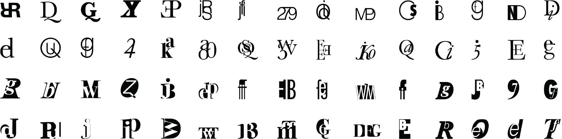 Cyrena Johnson Design Type Symbols