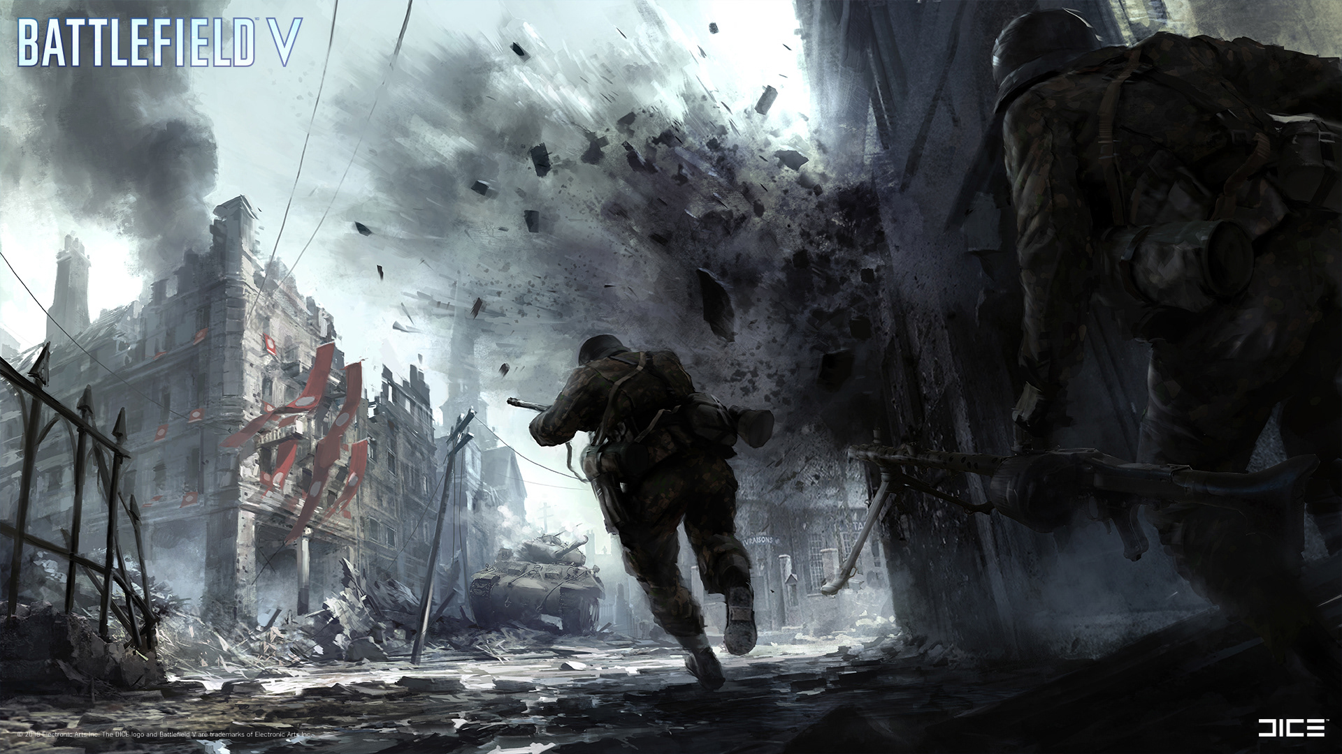 Overview for salaminl - Battlefield v concept art wallpaper ...