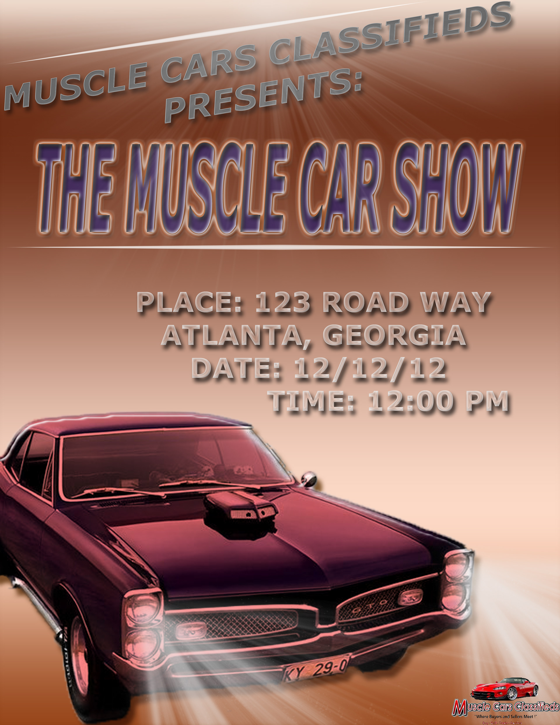 Carise Pernell - Muscle Cars Classifieds