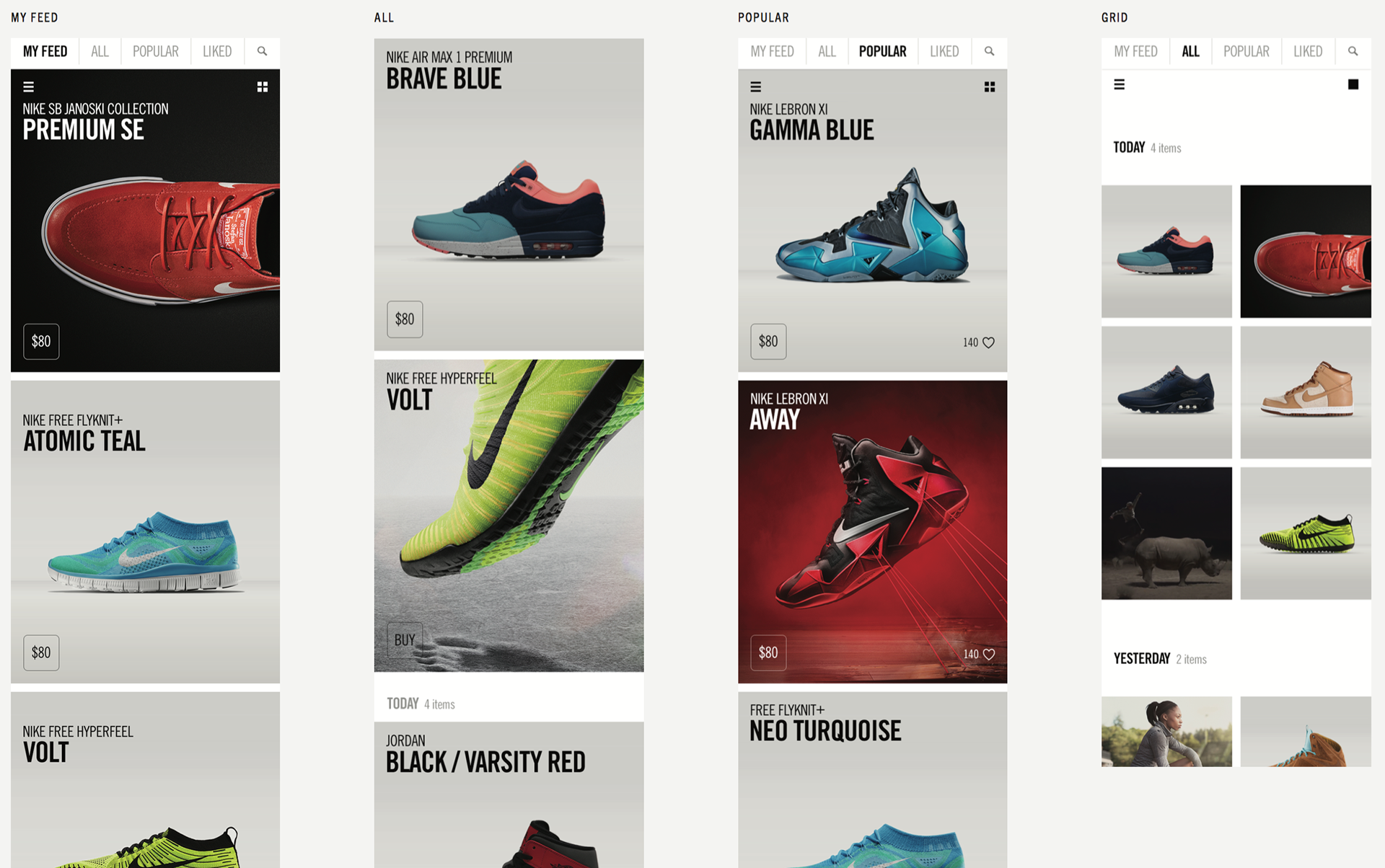 online store cd154 15ab9 Led a team of designers and product managers in launching Nike s very 1st  app!!... which would be catered to the loyal sneakerheads of Nike that in  turn ...