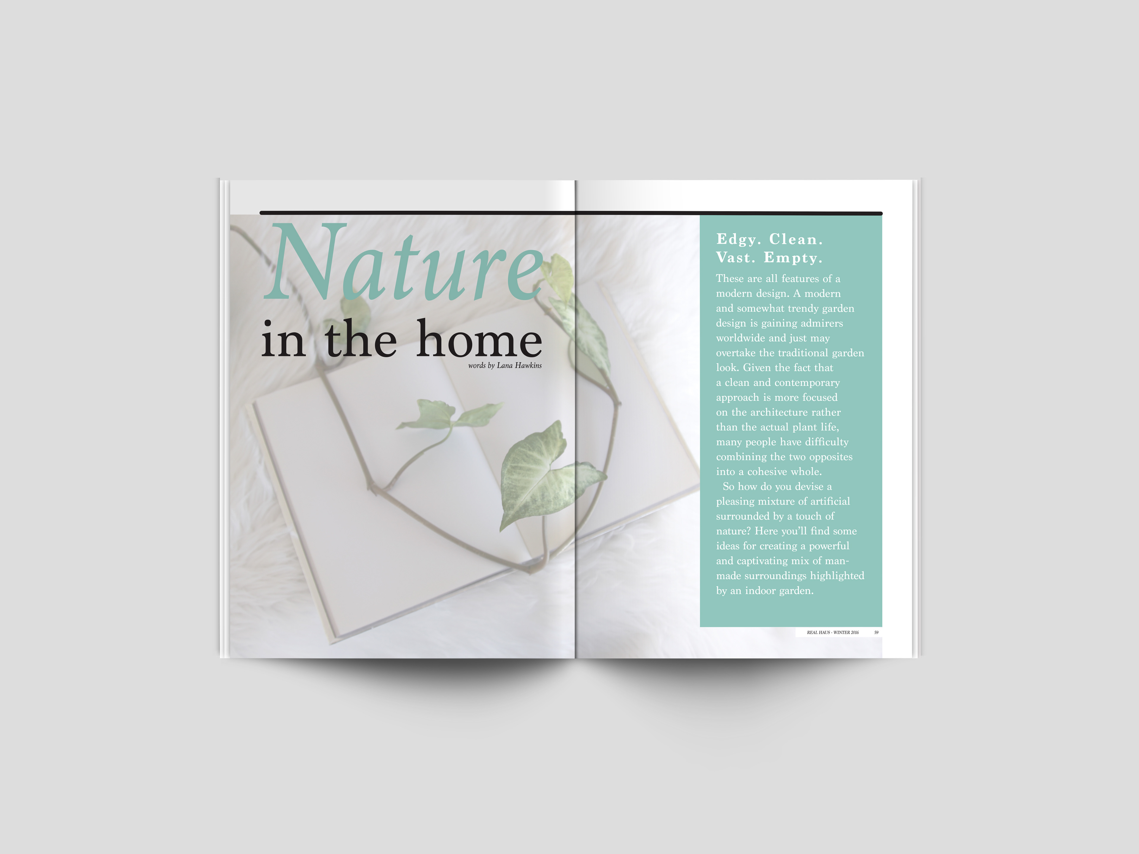 Elle Alevizos | Wonky Kaktus - \'Real Haus\' Magazine