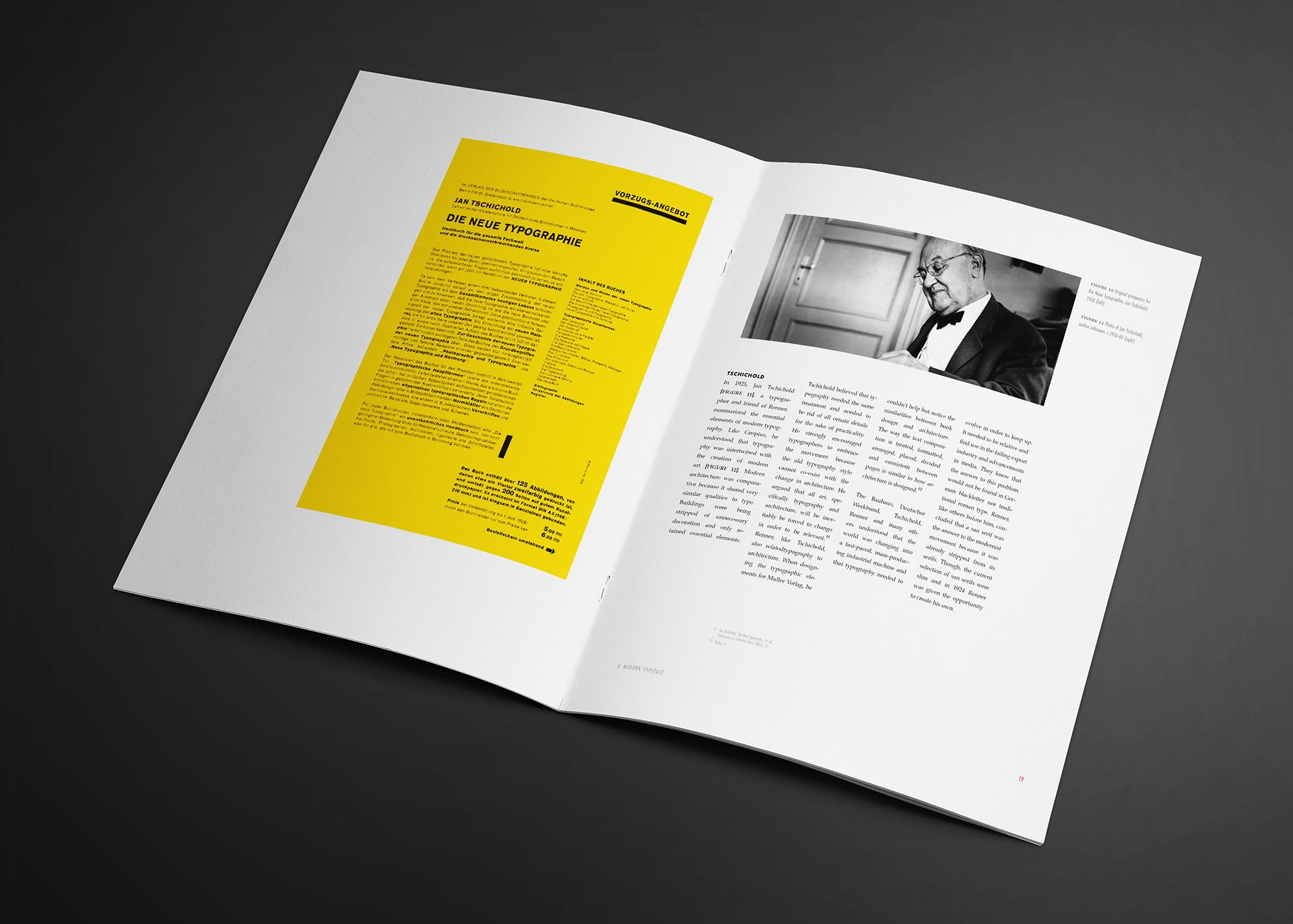 Matthew Holloway - Monograph - Futura Typeface