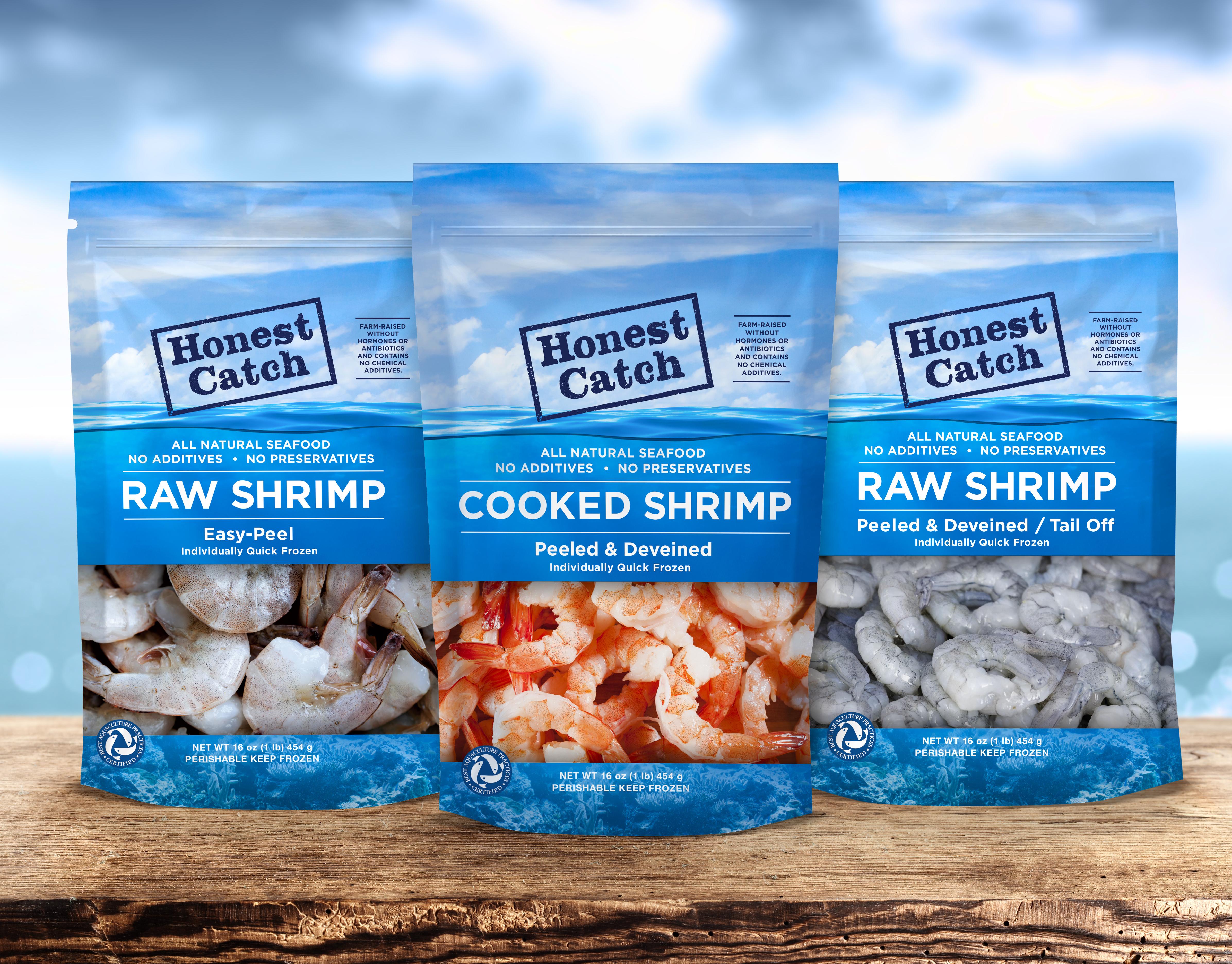 Stand Designs : Matt kincaid honest catch shrimp packaging