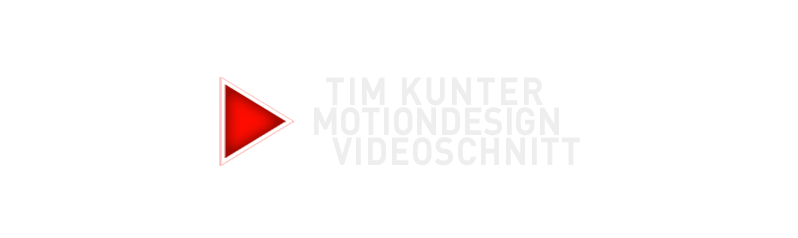 Tim Kunter Motiondesign Videoschnitt