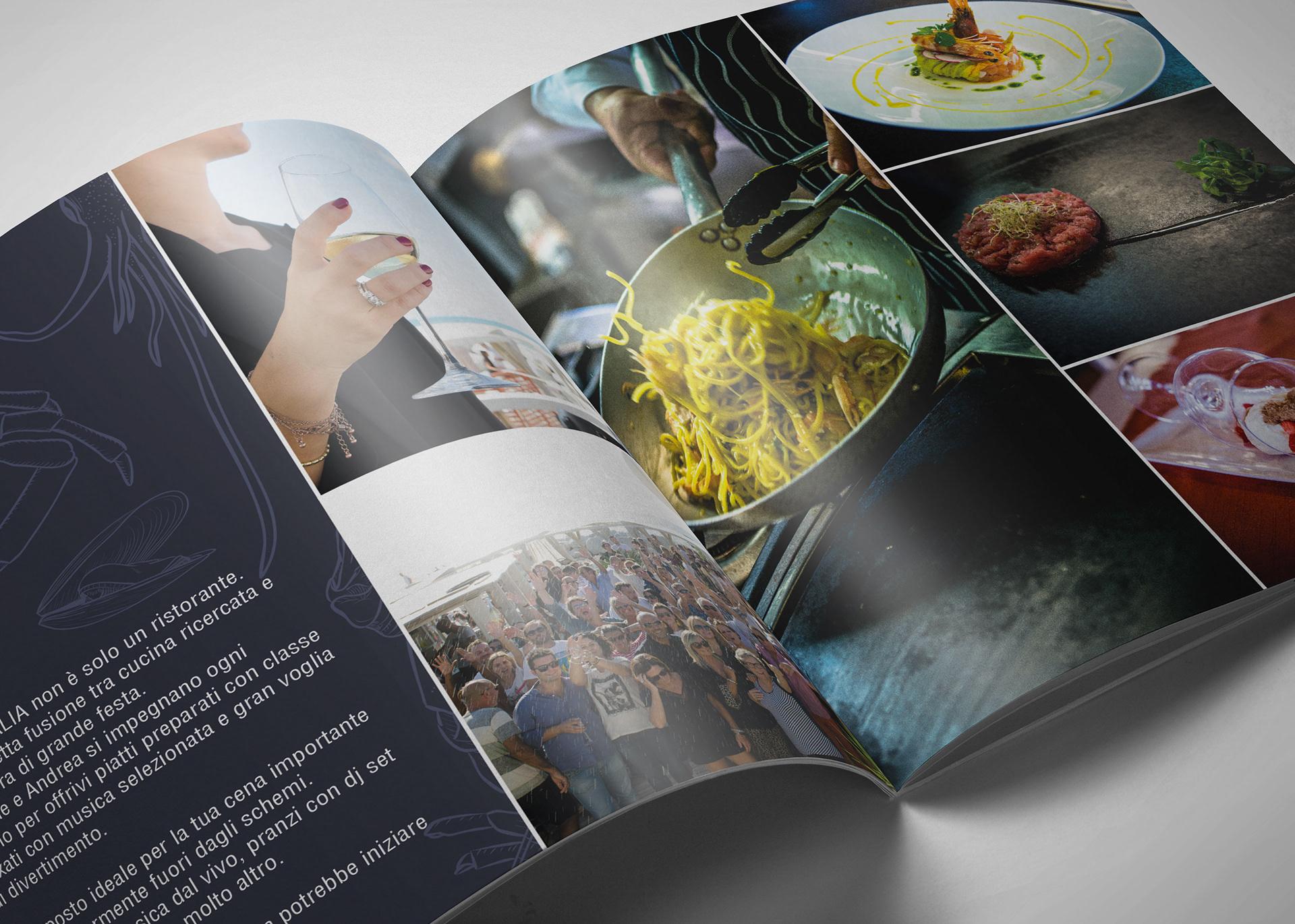 Ristorante Bagno Italia Marina Di Pisa : Luca masini bagno italia restaurant brochure