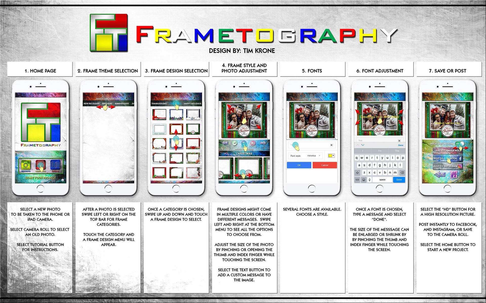 Tim Krone Designs - App Designs & Digital Frames
