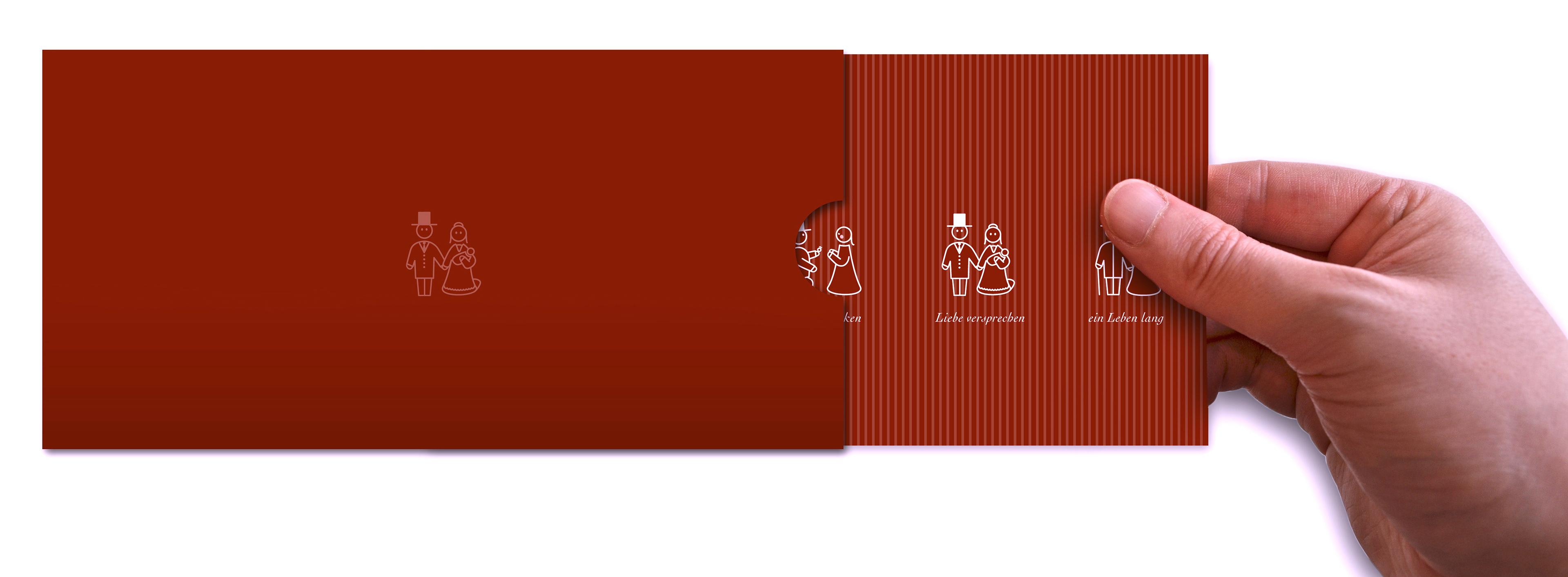 Björn Musyal - Communication Design - Line Art Wedding Invitation