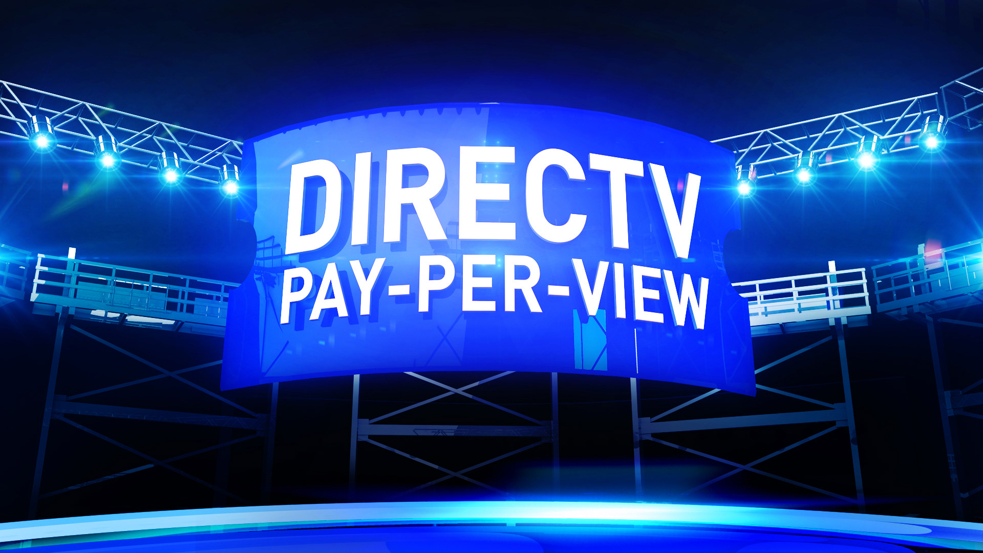 Design pitch for Directv Pay-Per-View rebrand.