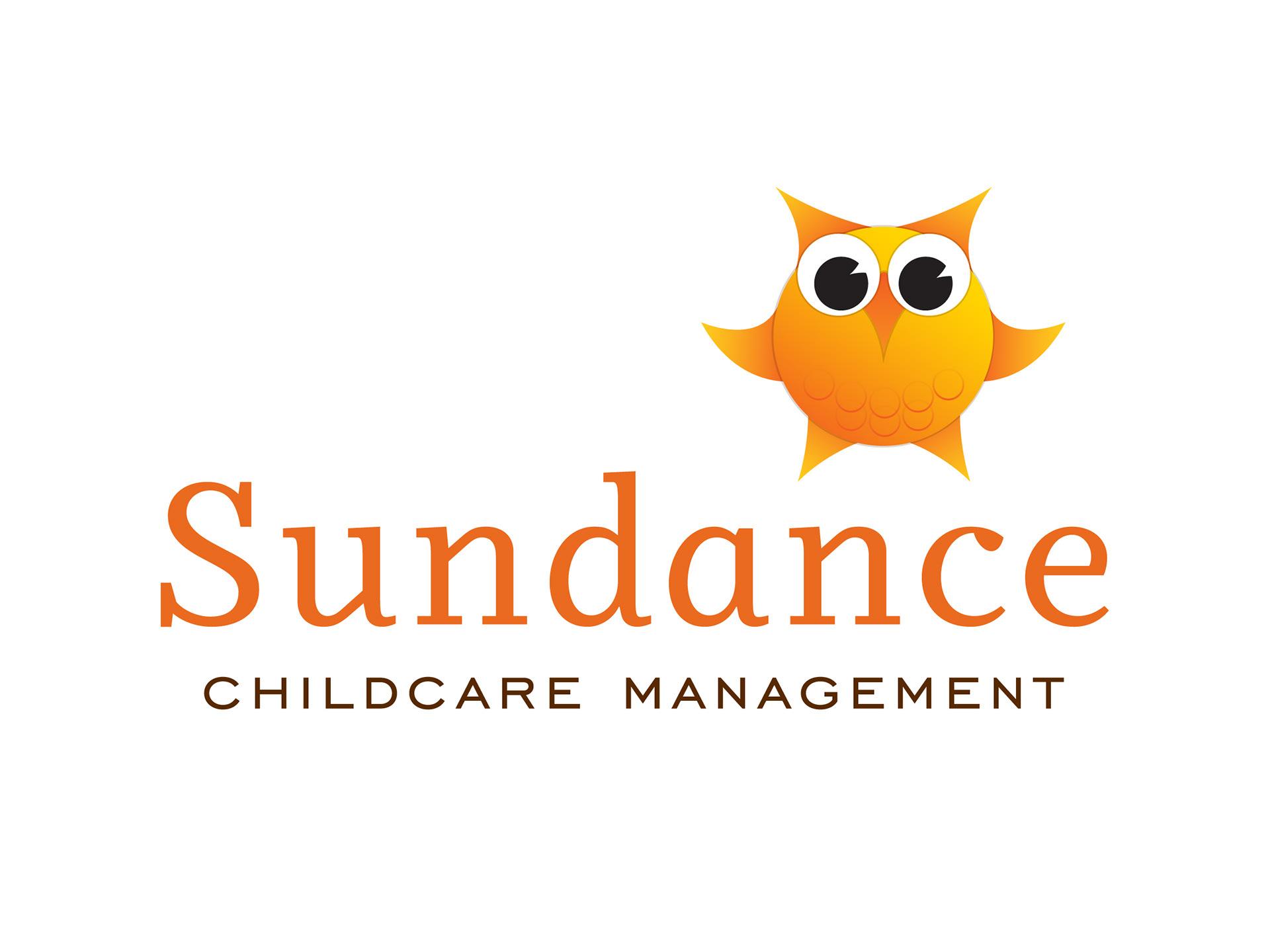 sundance childcare management logo designer