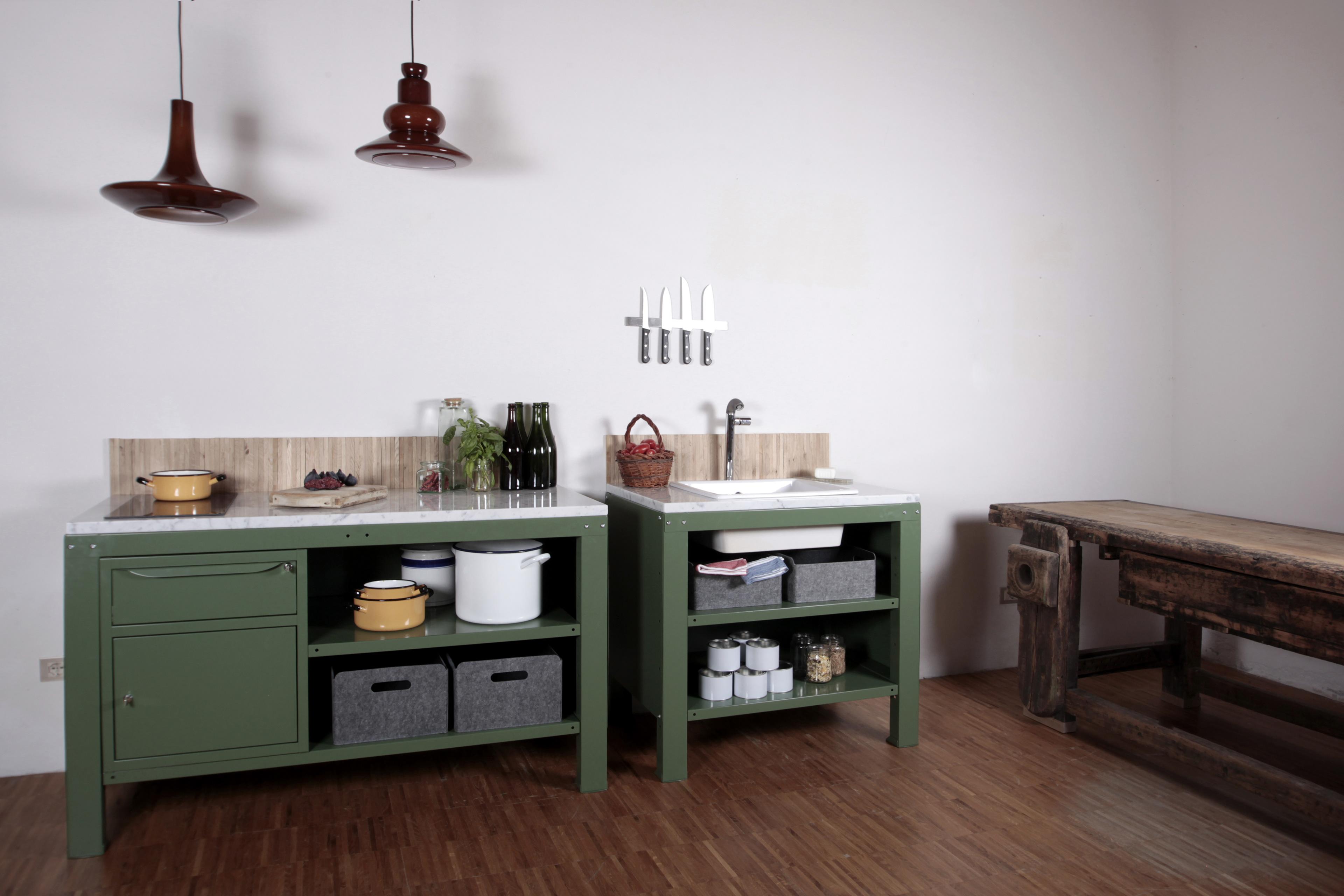 Riccardo Randi | Designer Bologna - Very Simple Kitchen [Vintage ...