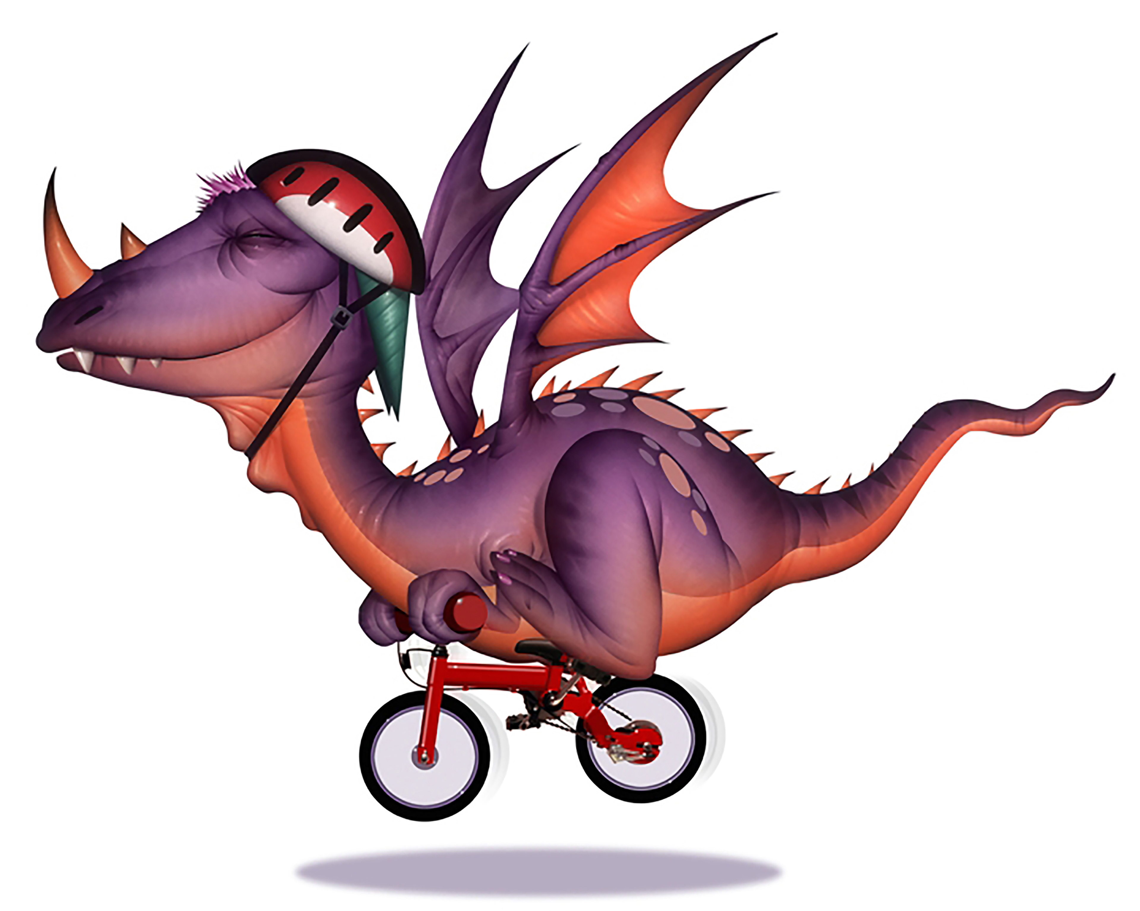 Смешной, прикольные рисунки с драконами