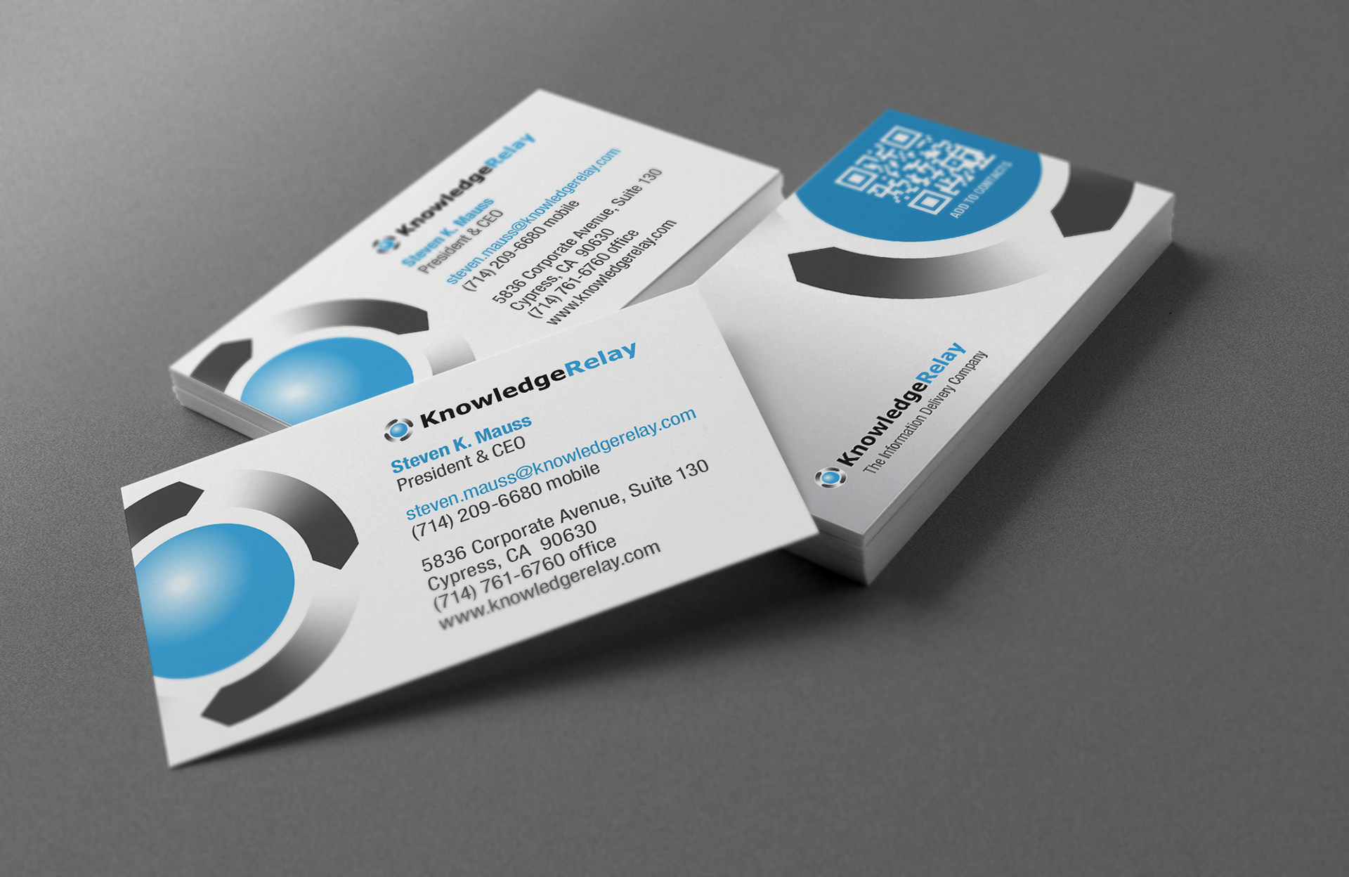 Brian Weiske - Knowledge Relay | Business Cards