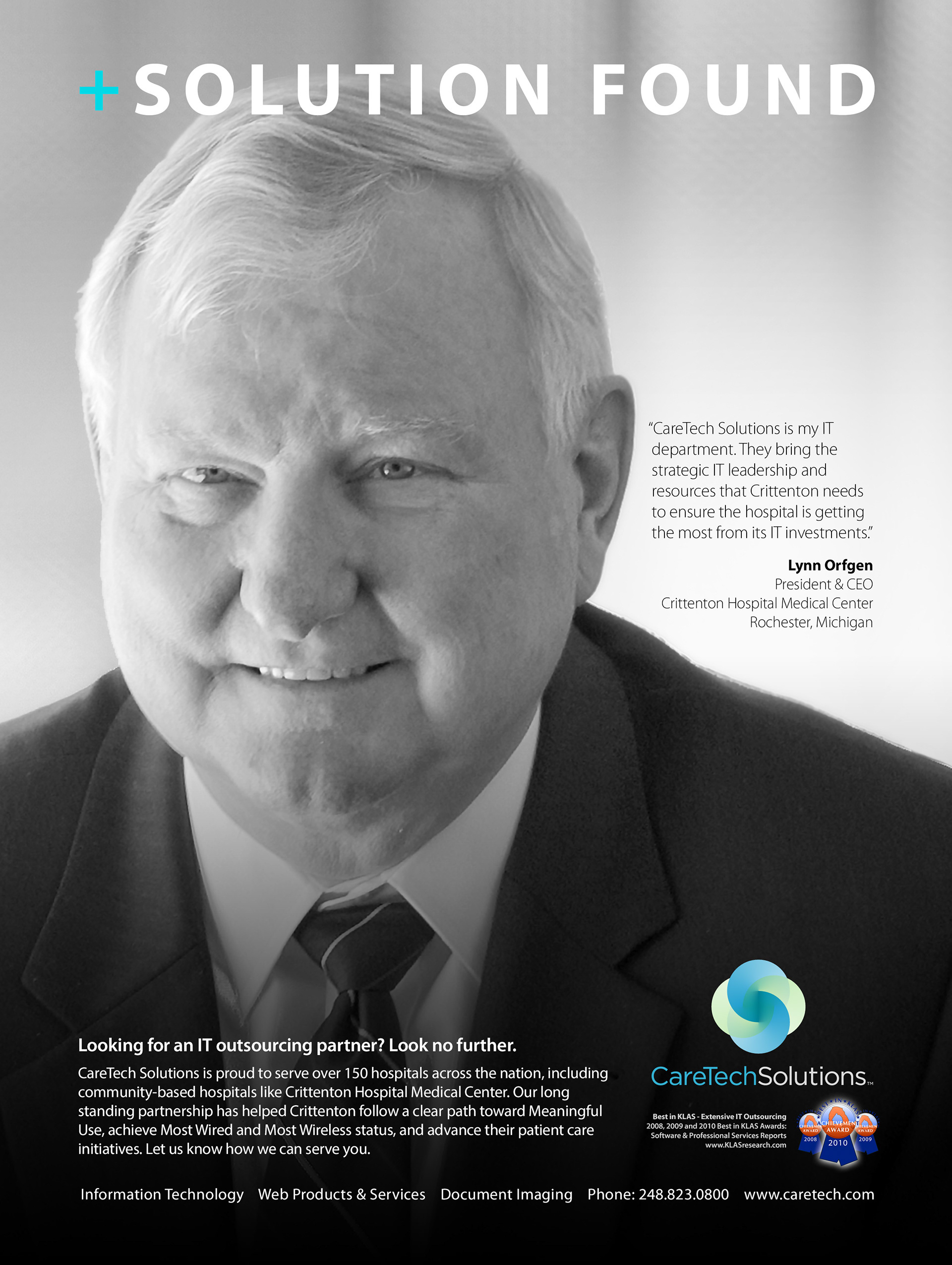 Richard Gutierrez - CareTech Solutions - Solution Found Campaign