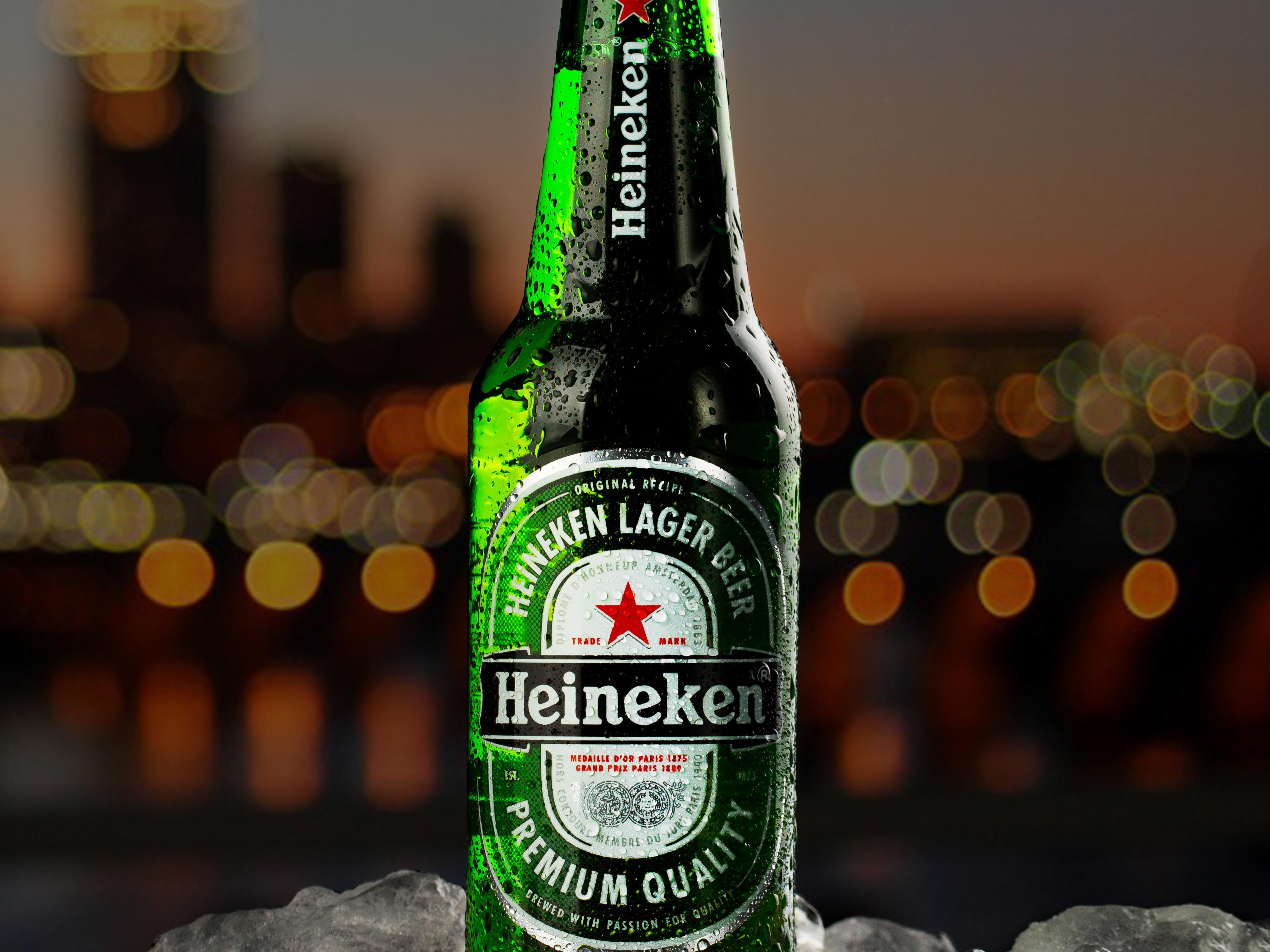 Пиво хайнекен картинка