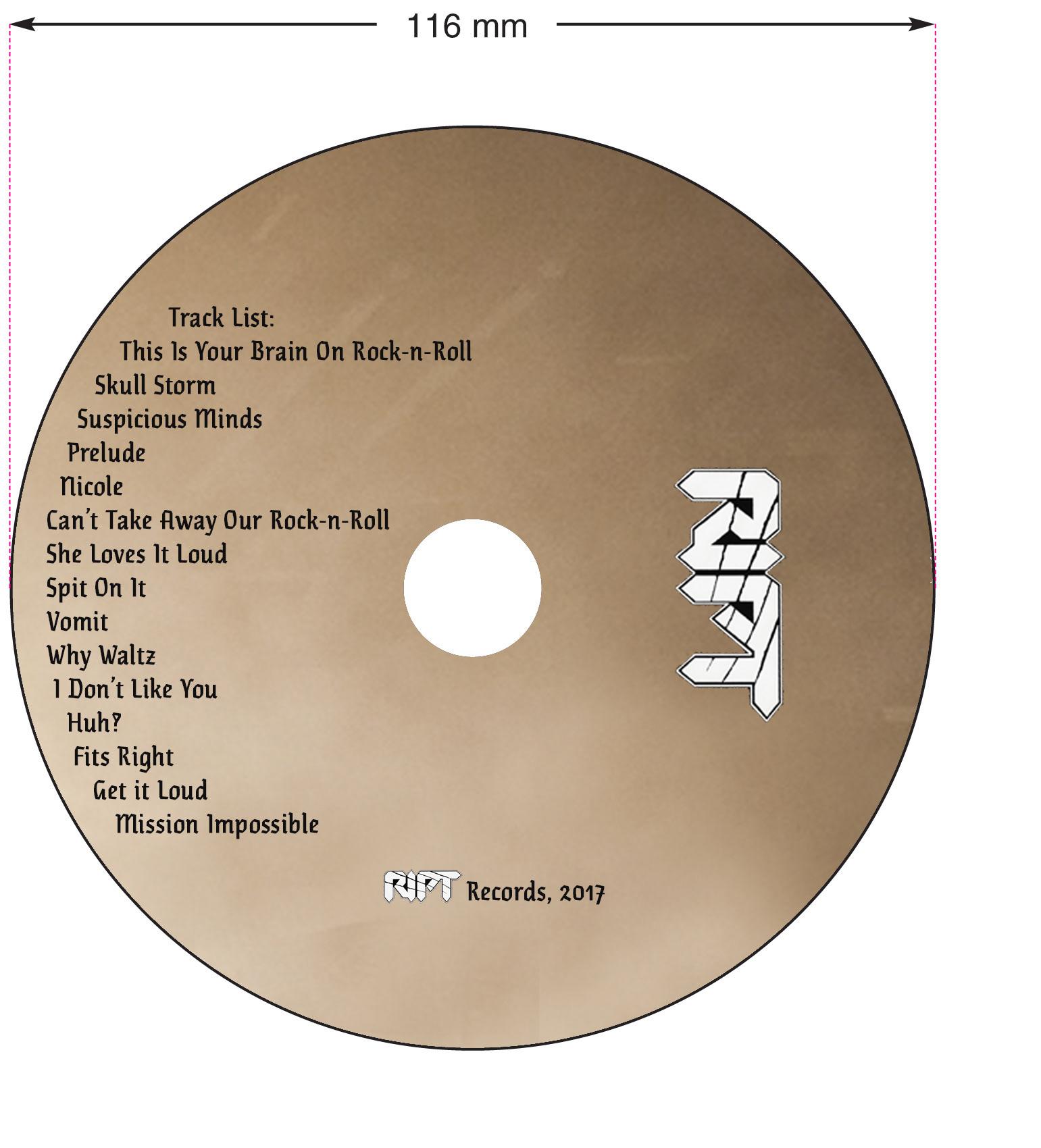 Travis Legge - RIPT CD Layout