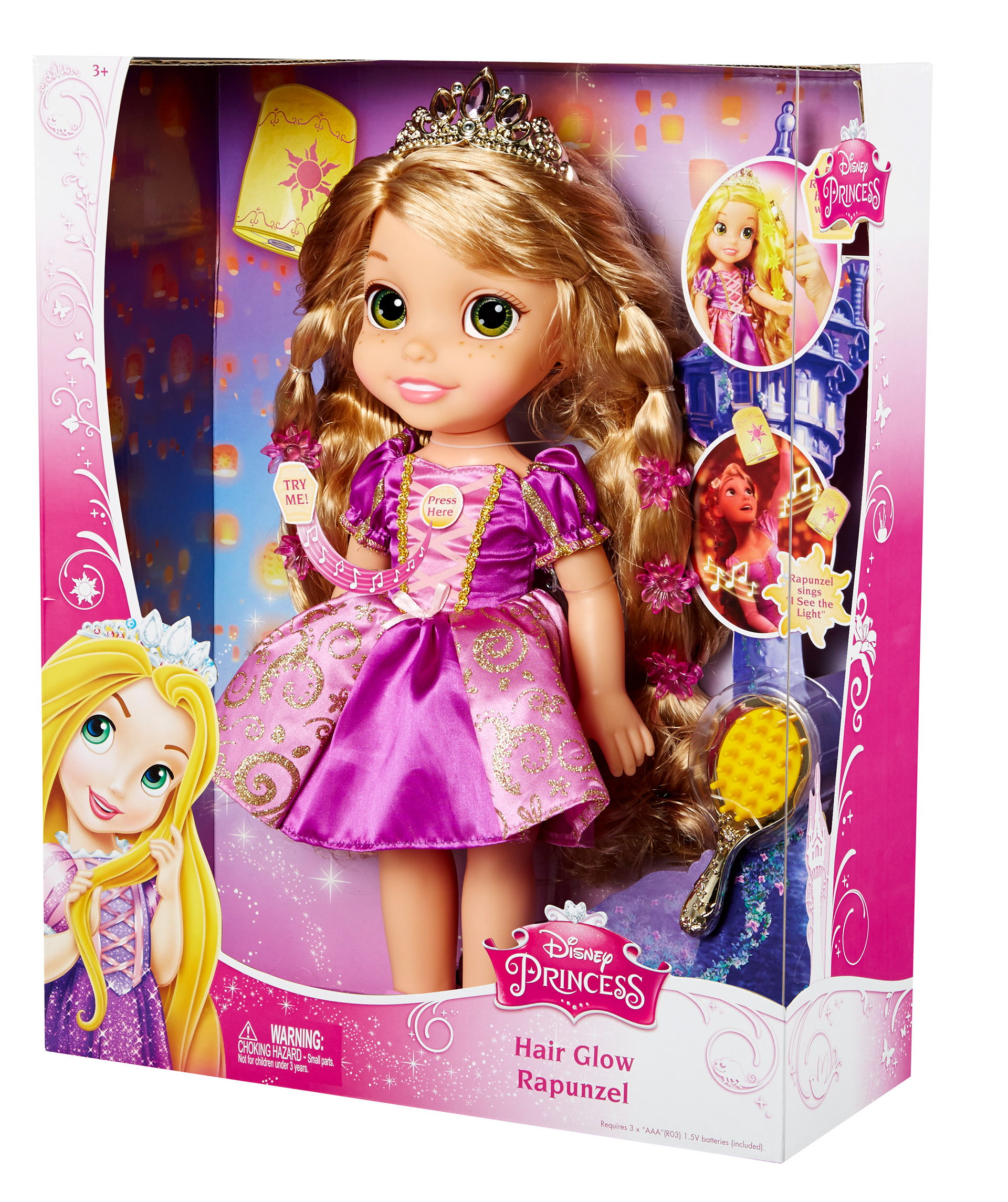 Hair Glow Rapunzel Packaging Design Art Direction Style Me Princess Ortment