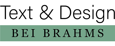 Text & Grafikdesign Bei Brahms