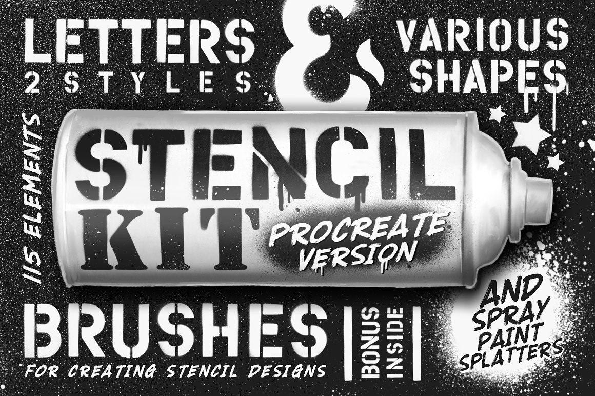 DEOUR - Webdesign Resources & Development - Stencil Kit Procreate