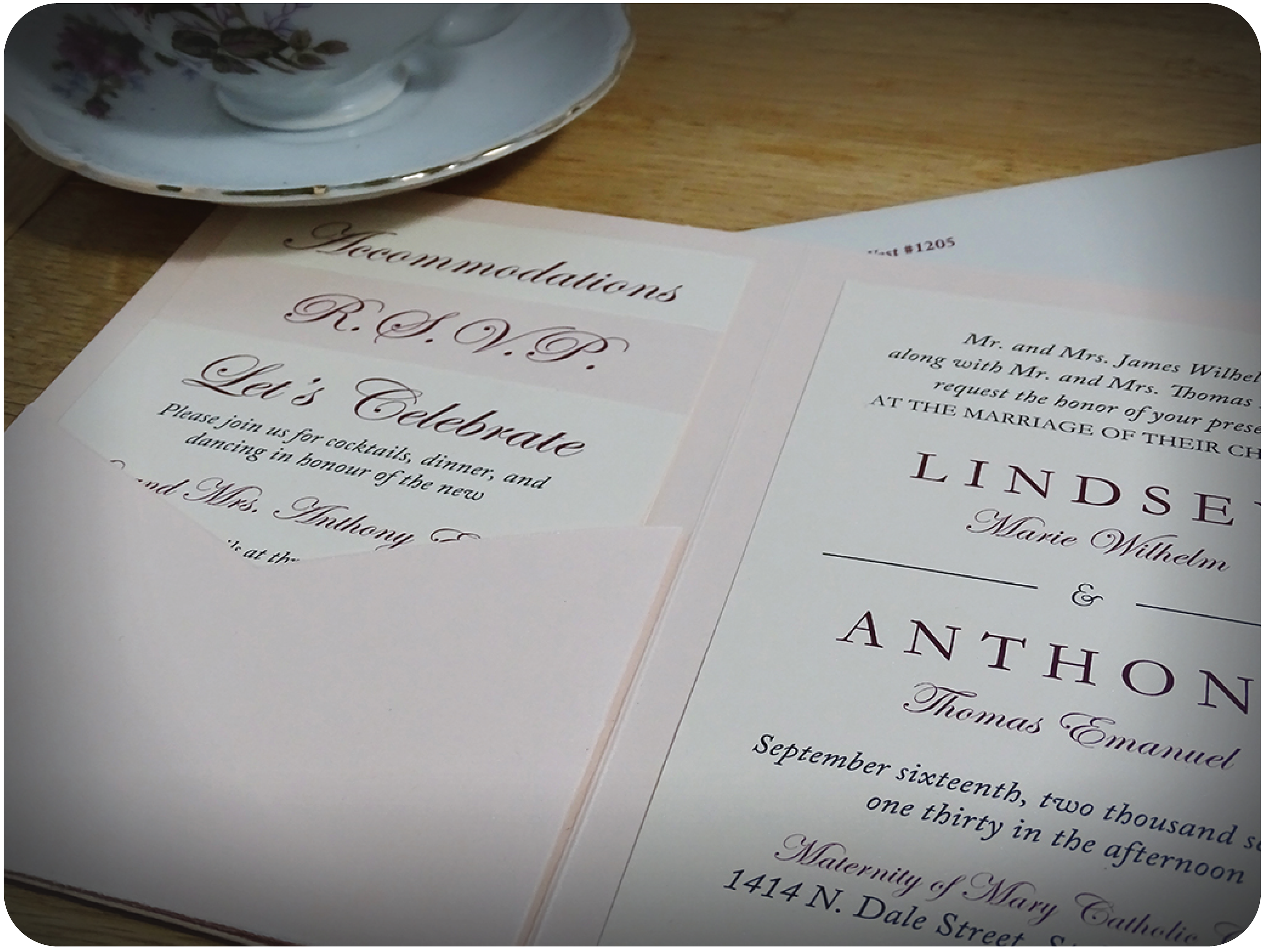Fancy Wedding Invitation Postcards Image Collection - Invitations ...